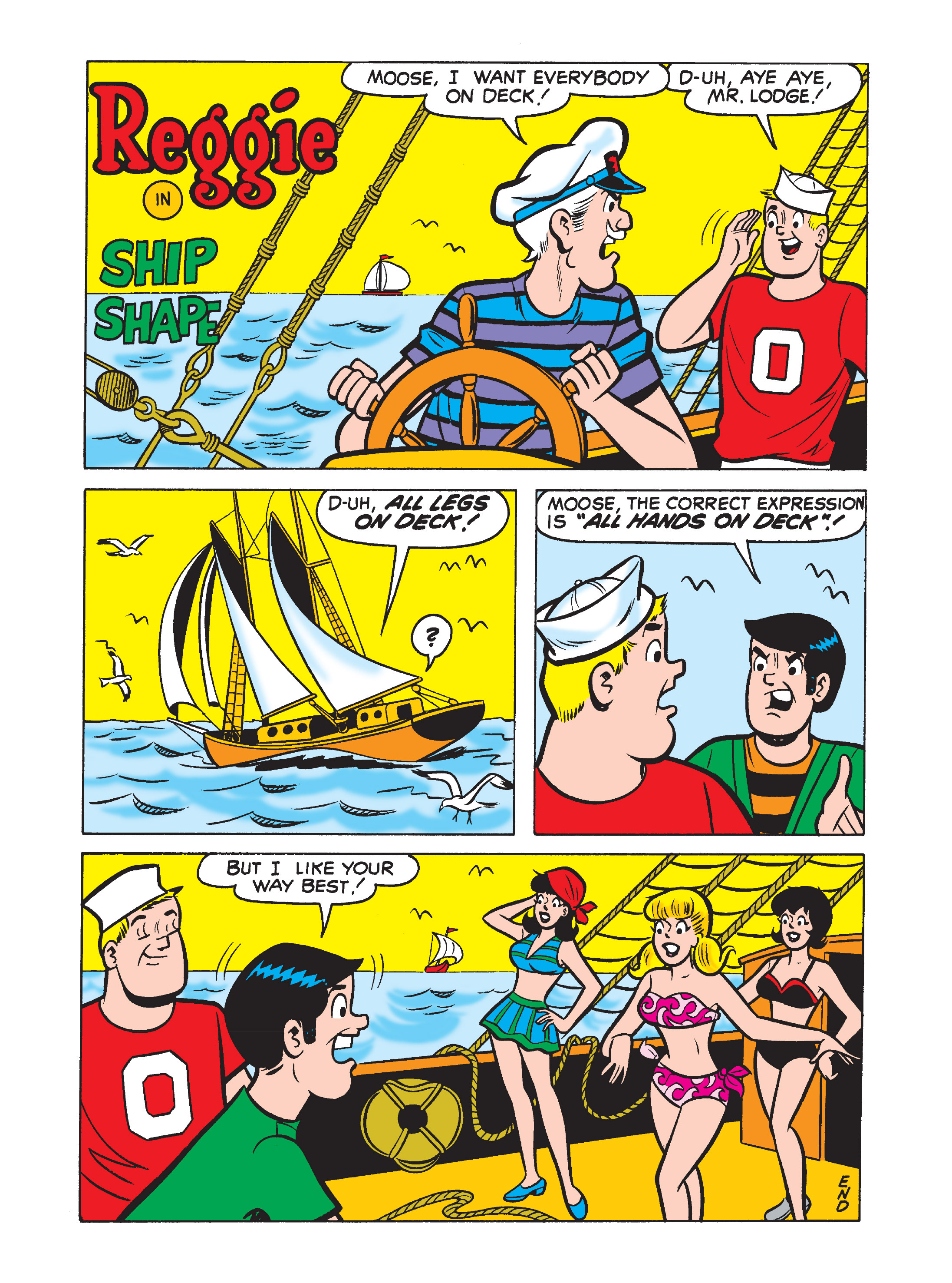 Read online Archie's Funhouse Double Digest comic -  Issue #7 - 61