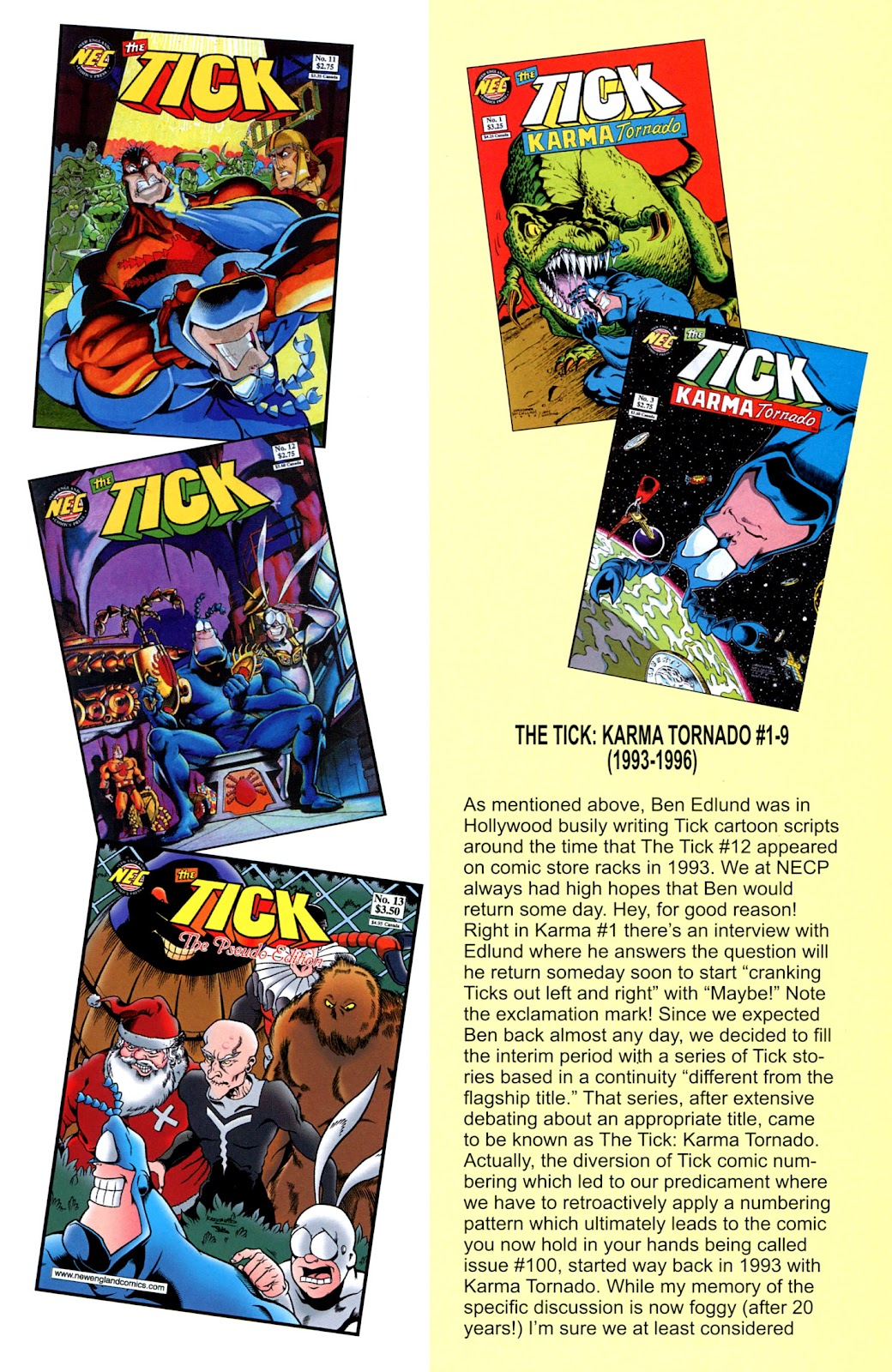 Read online The Tick comic -  Issue #100 - 33