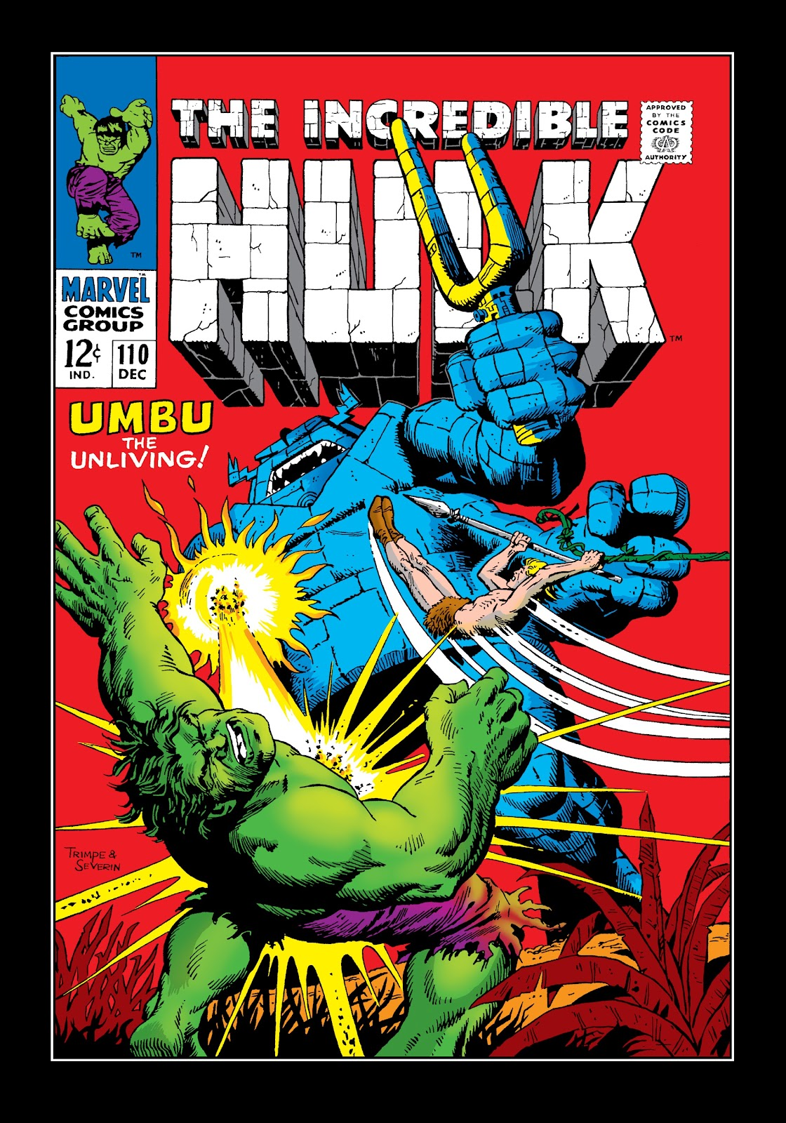 Read online Marvel Masterworks: The Incredible Hulk comic -  Issue # TPB 4 (Part 3) - 7