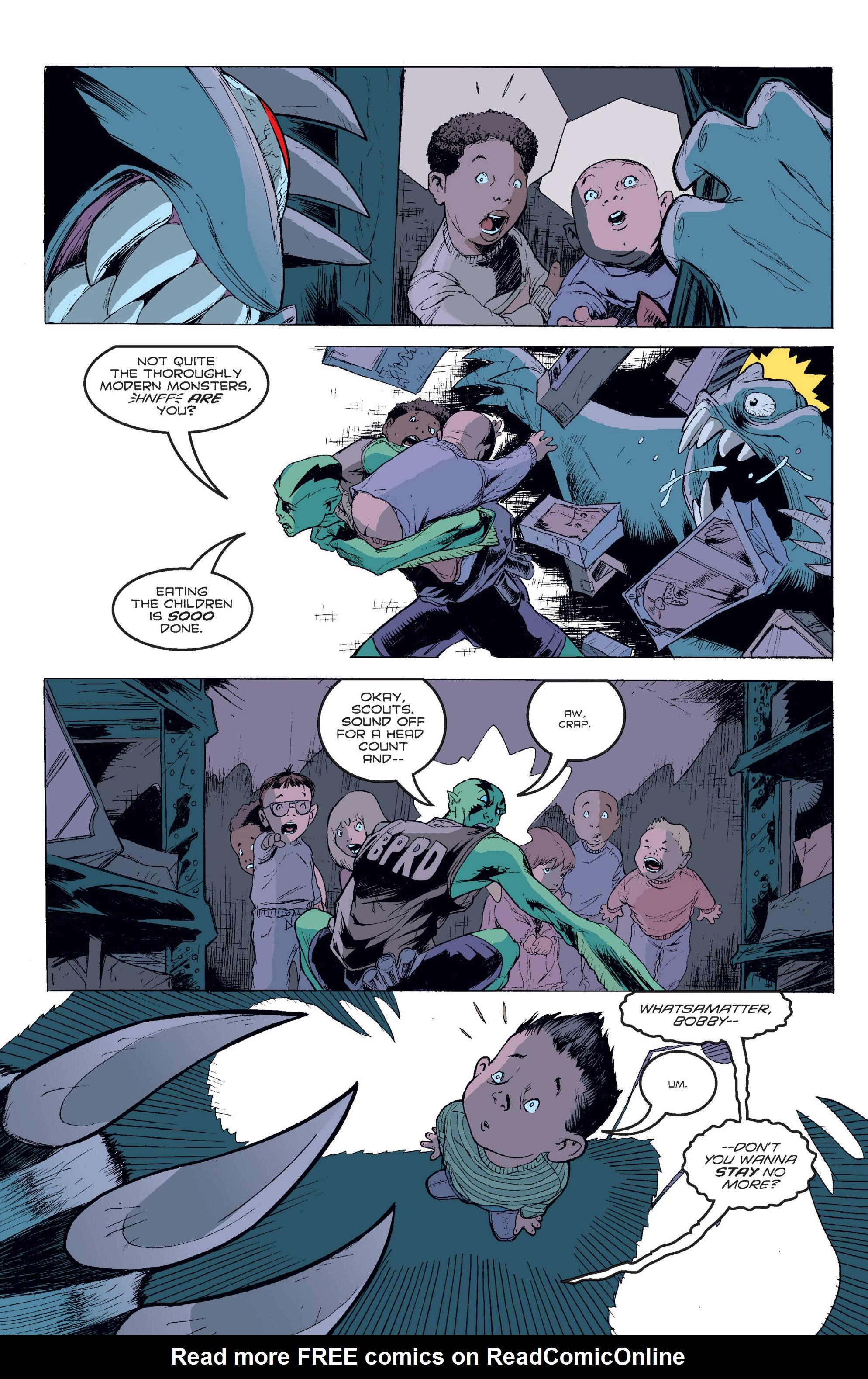 Read online B.P.R.D. (2003) comic -  Issue # TPB 2 - 99