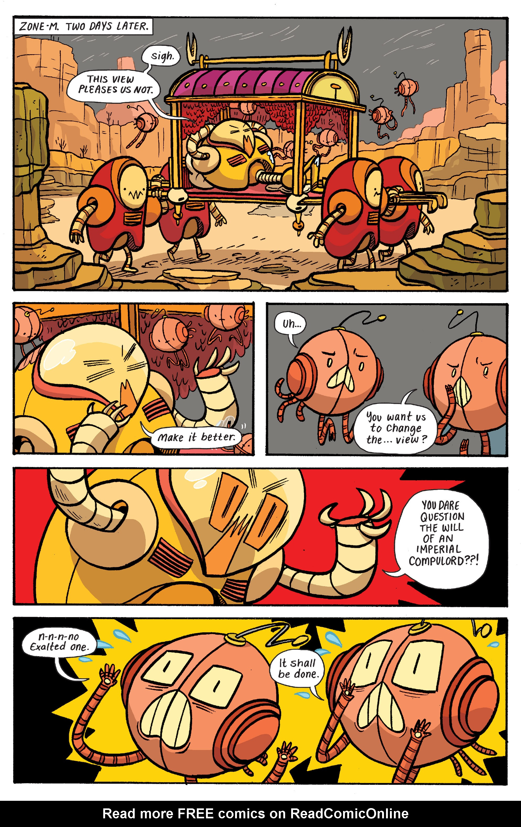Read online Adventure Time: Banana Guard Academ comic -  Issue #6 - 7