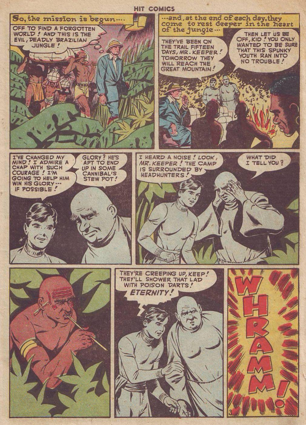 Read online Hit Comics comic -  Issue #51 - 5