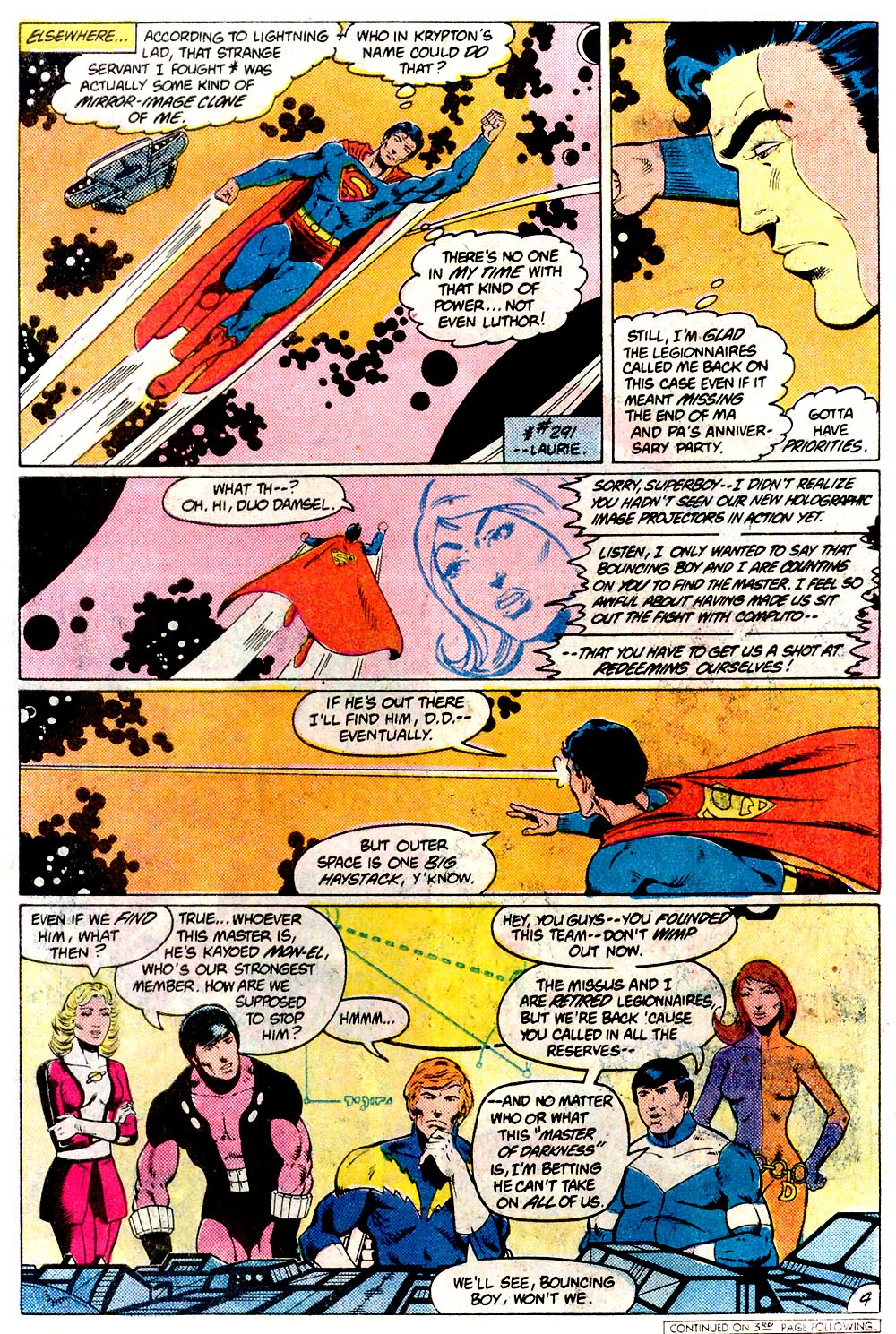 Legion of Super-Heroes (1980) 293 Page 4
