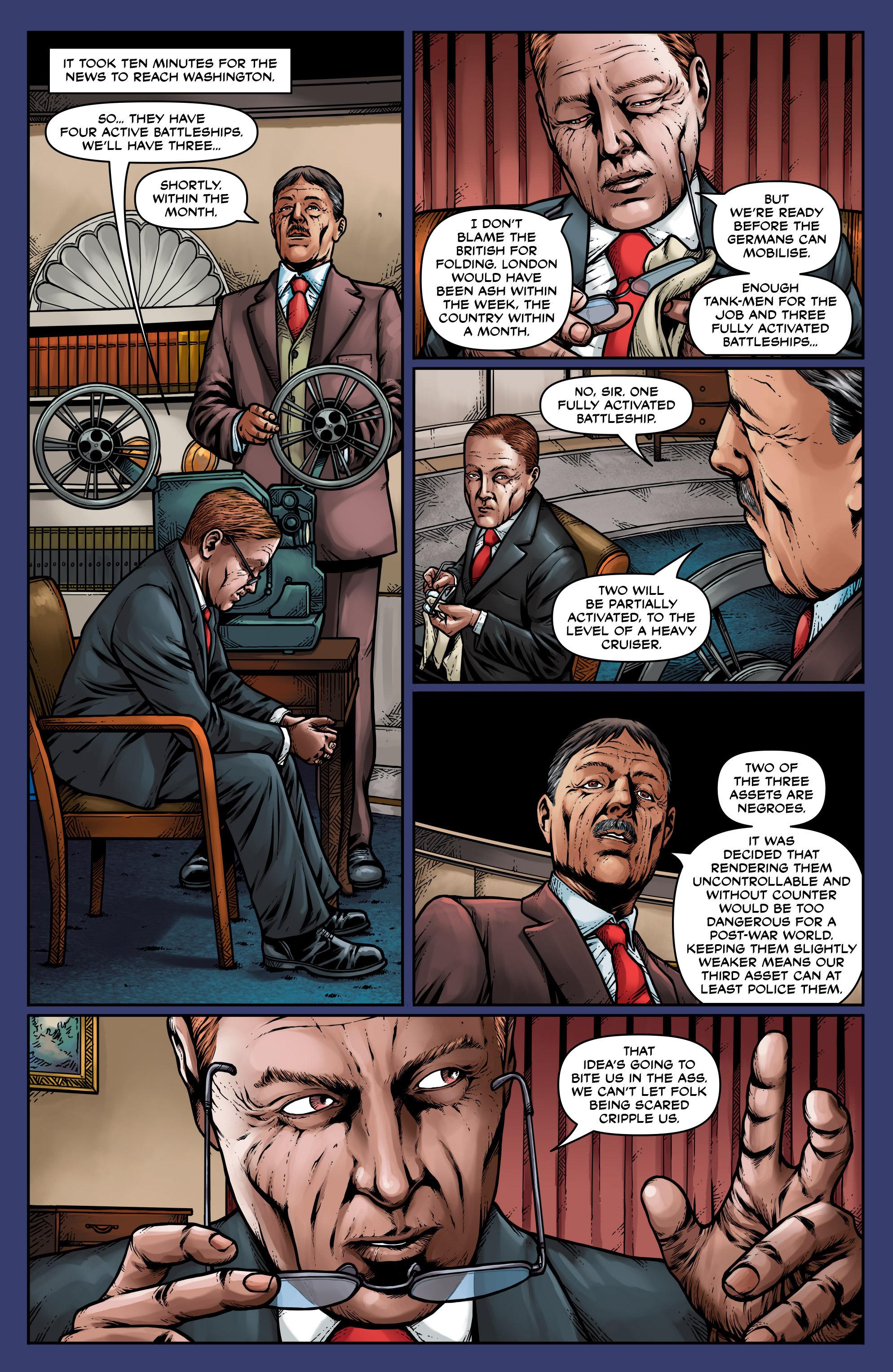 Read online Uber: Invasion comic -  Issue #1 - 18