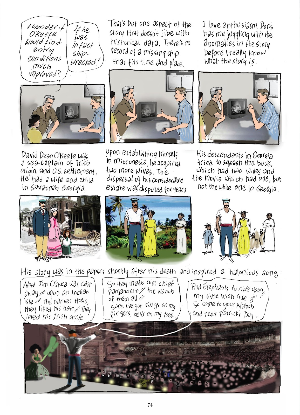 Read online The Lovely Horrible Stuff comic -  Issue # TPB - 76