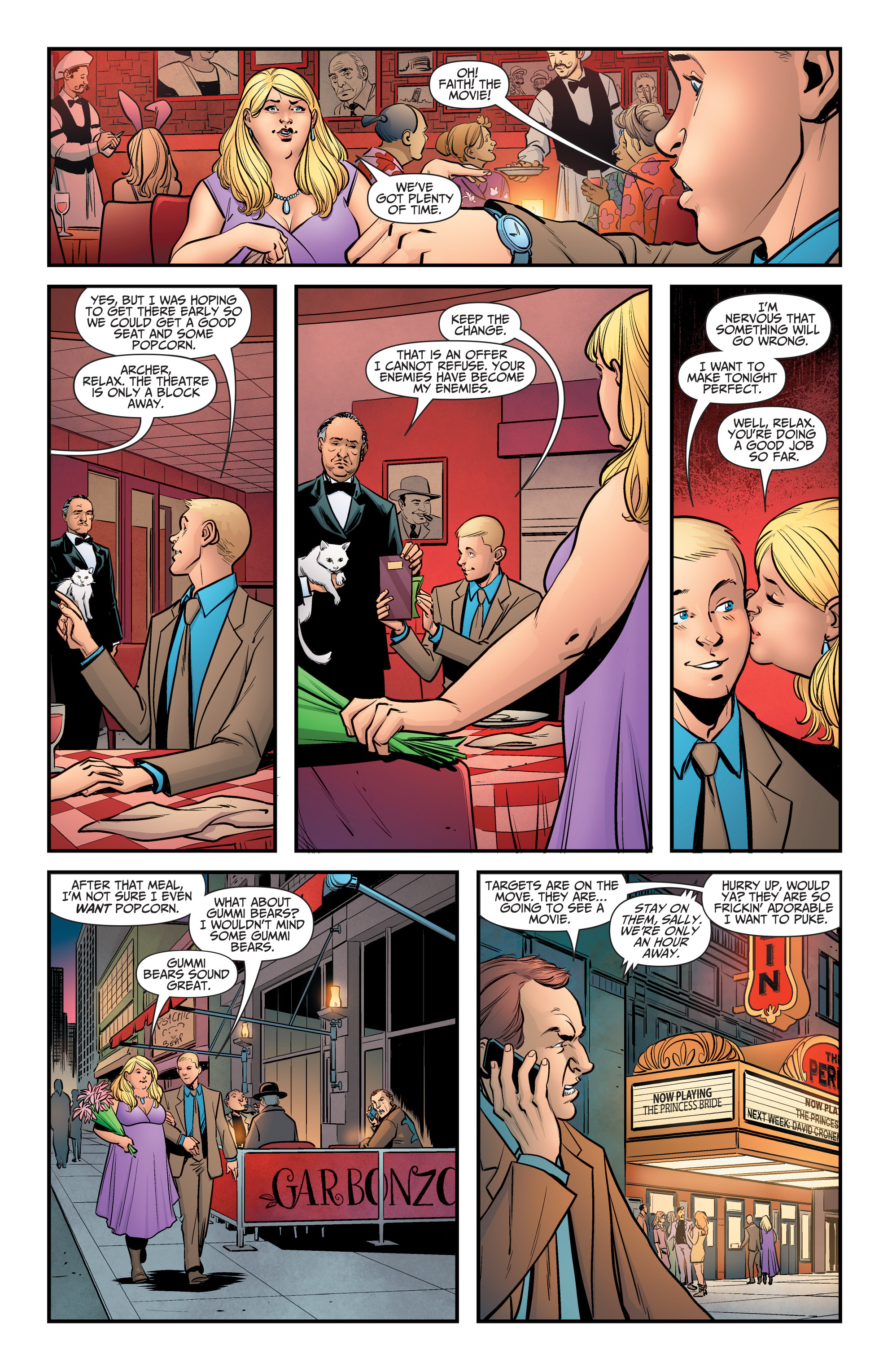 Read online A&A: The Adventures of Archer & Armstrong comic -  Issue #5 - 11