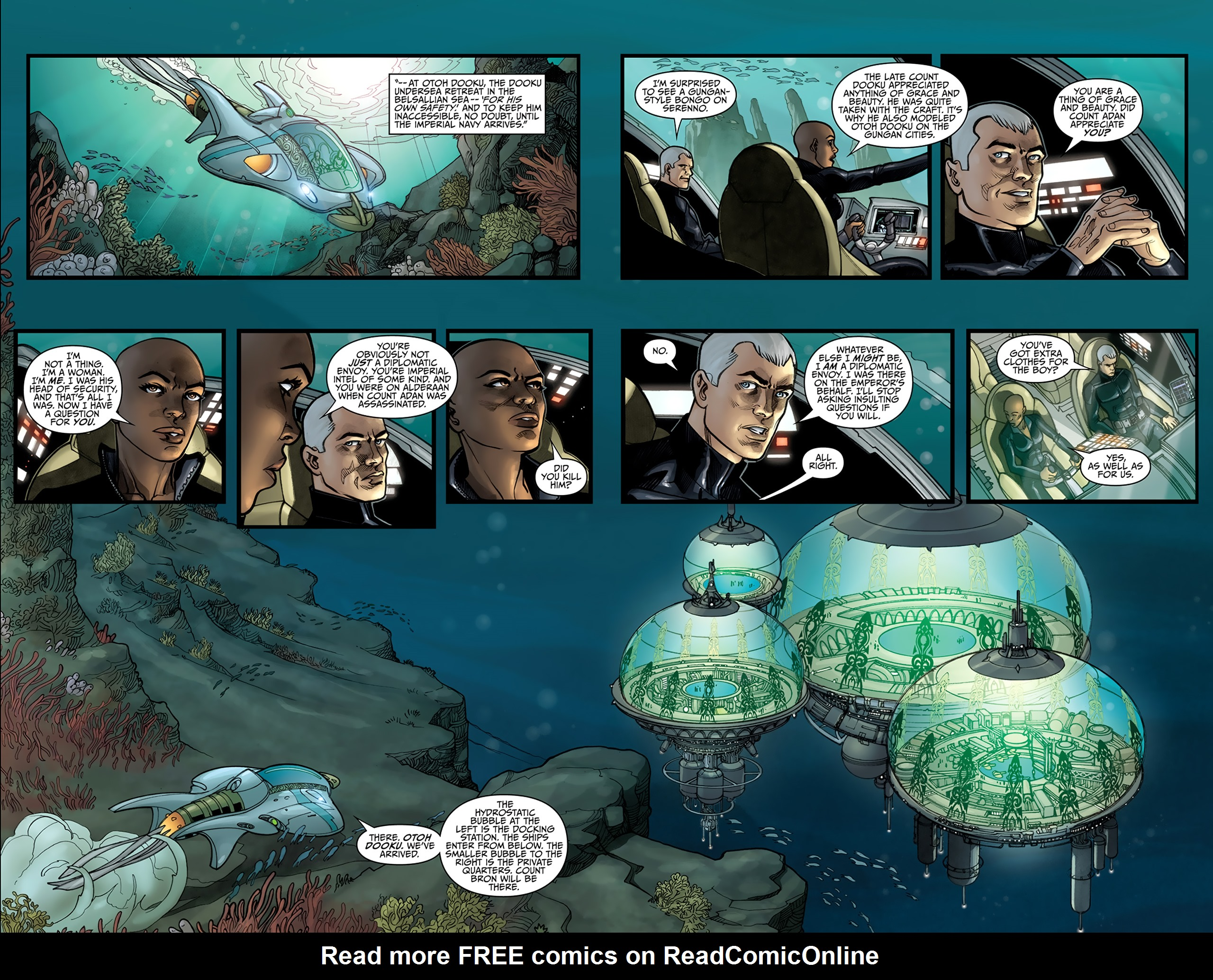Read online Star Wars: Agent Of The Empire - Hard Targets comic -  Issue #4 - 10