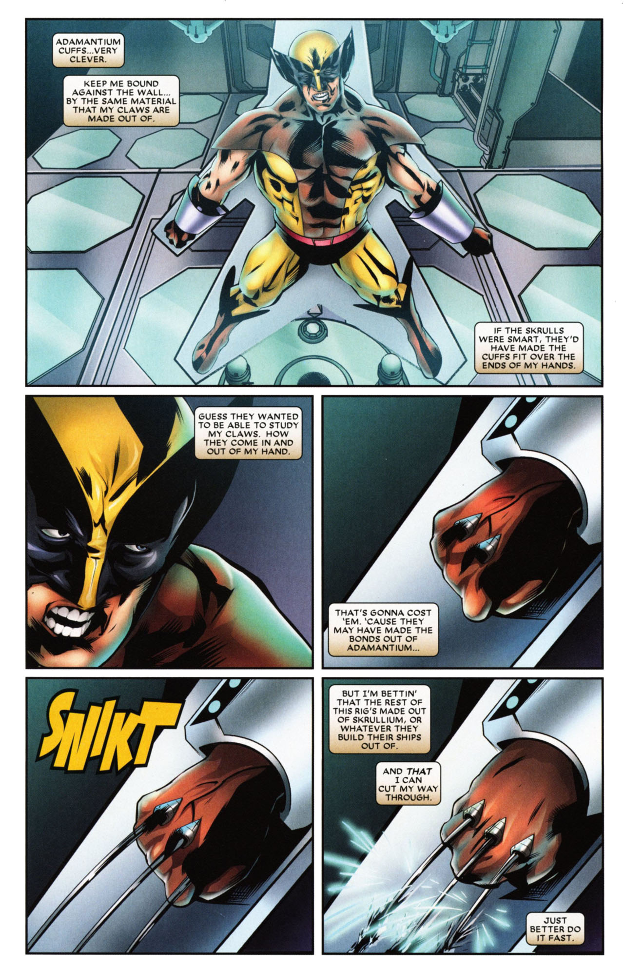 Read online Wolverine: First Class comic -  Issue #20 - 3
