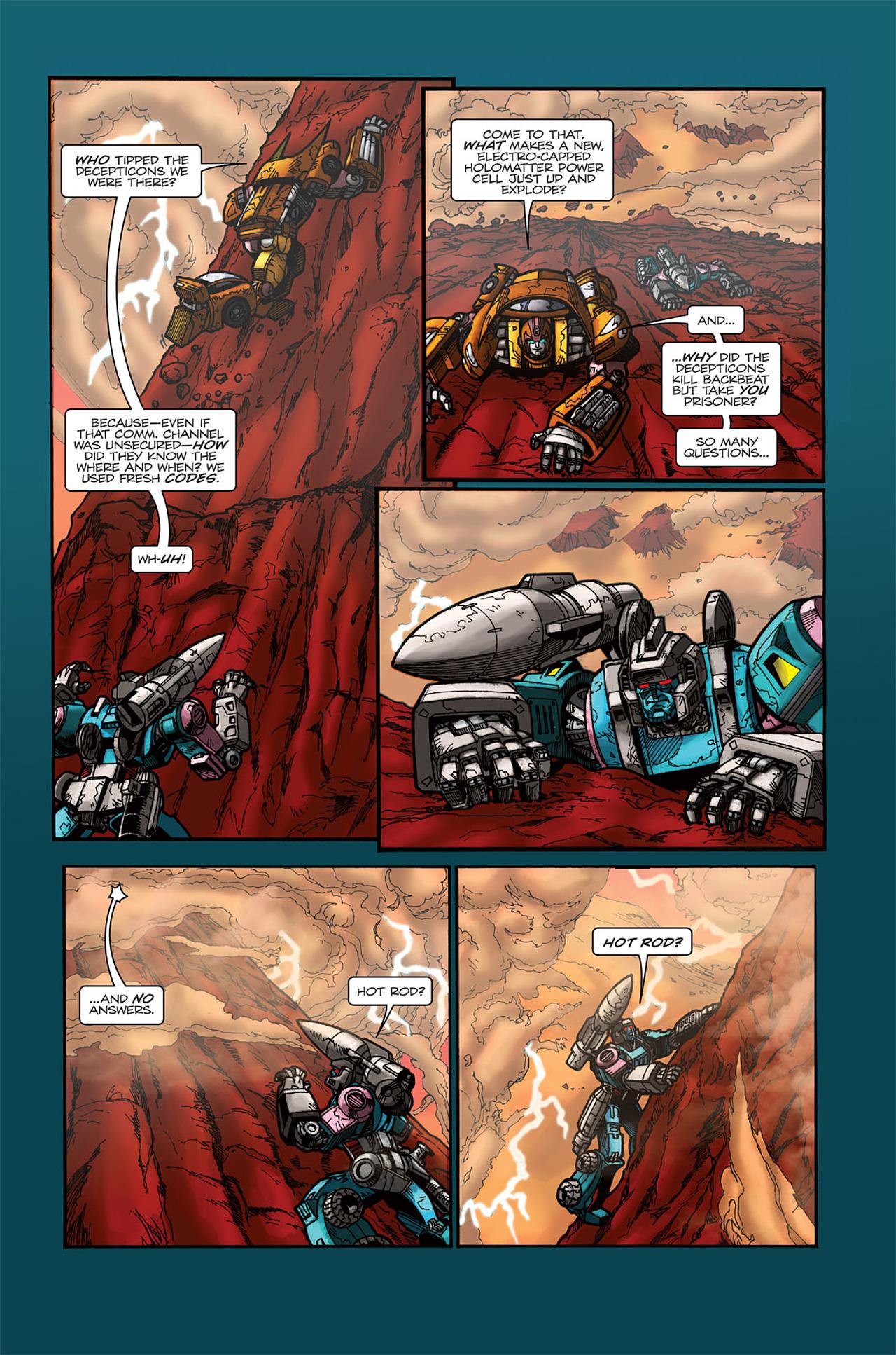 Read online Transformers Spotlight: Doubledealer comic -  Issue # Full - 21
