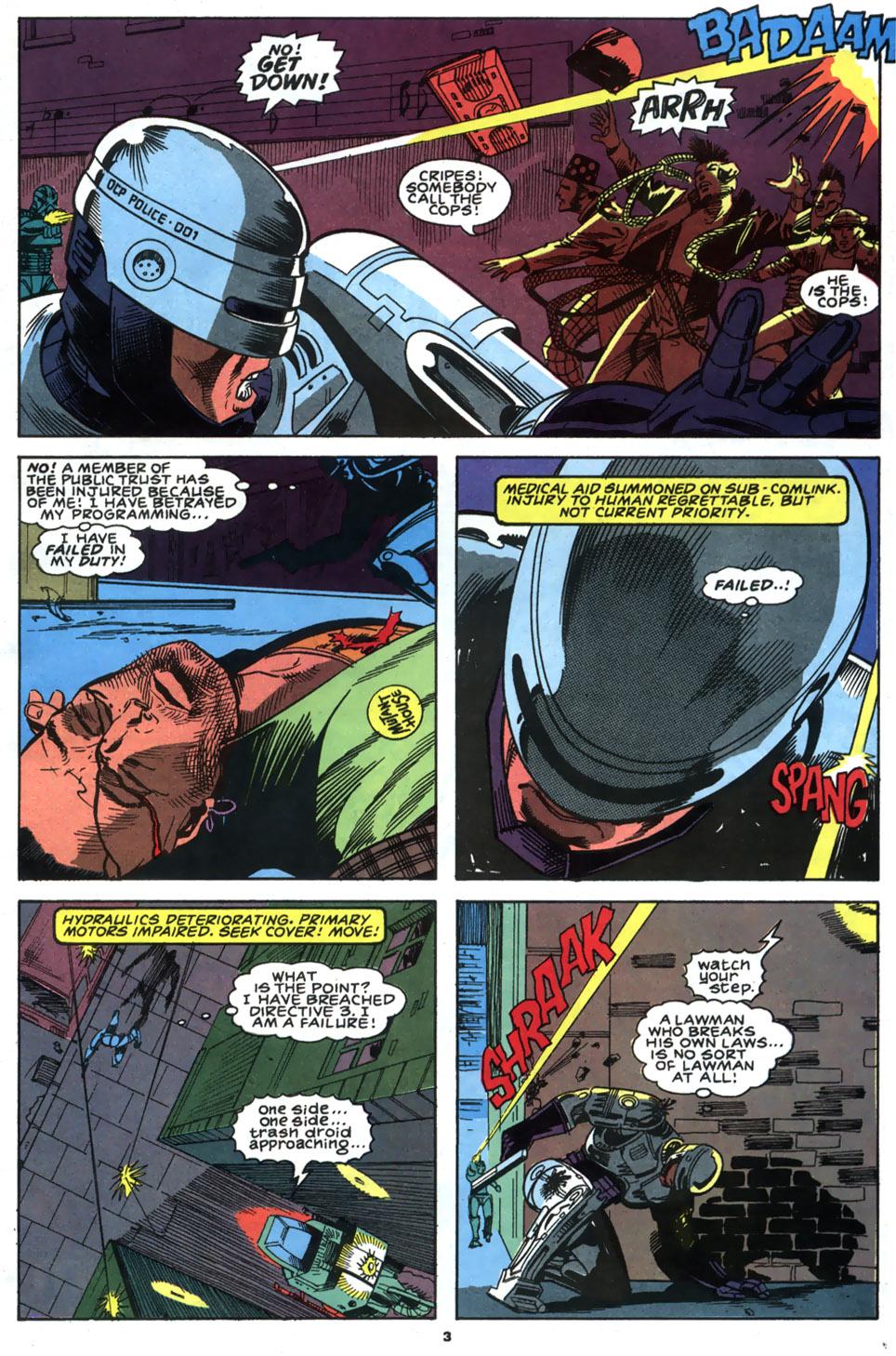 Read online Robocop (1990) comic -  Issue #2 - 4
