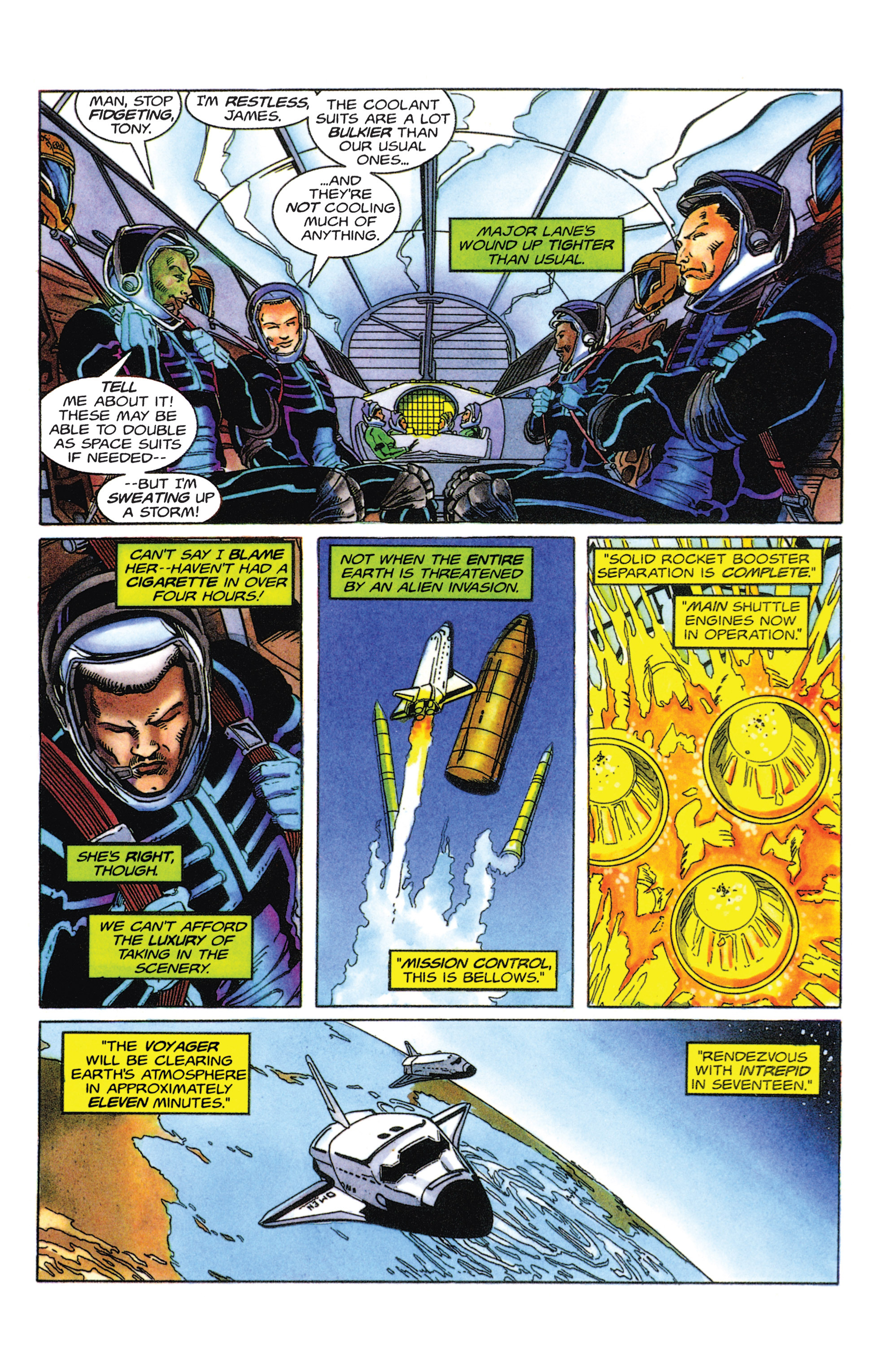 Read online Armorines comic -  Issue #5 - 4