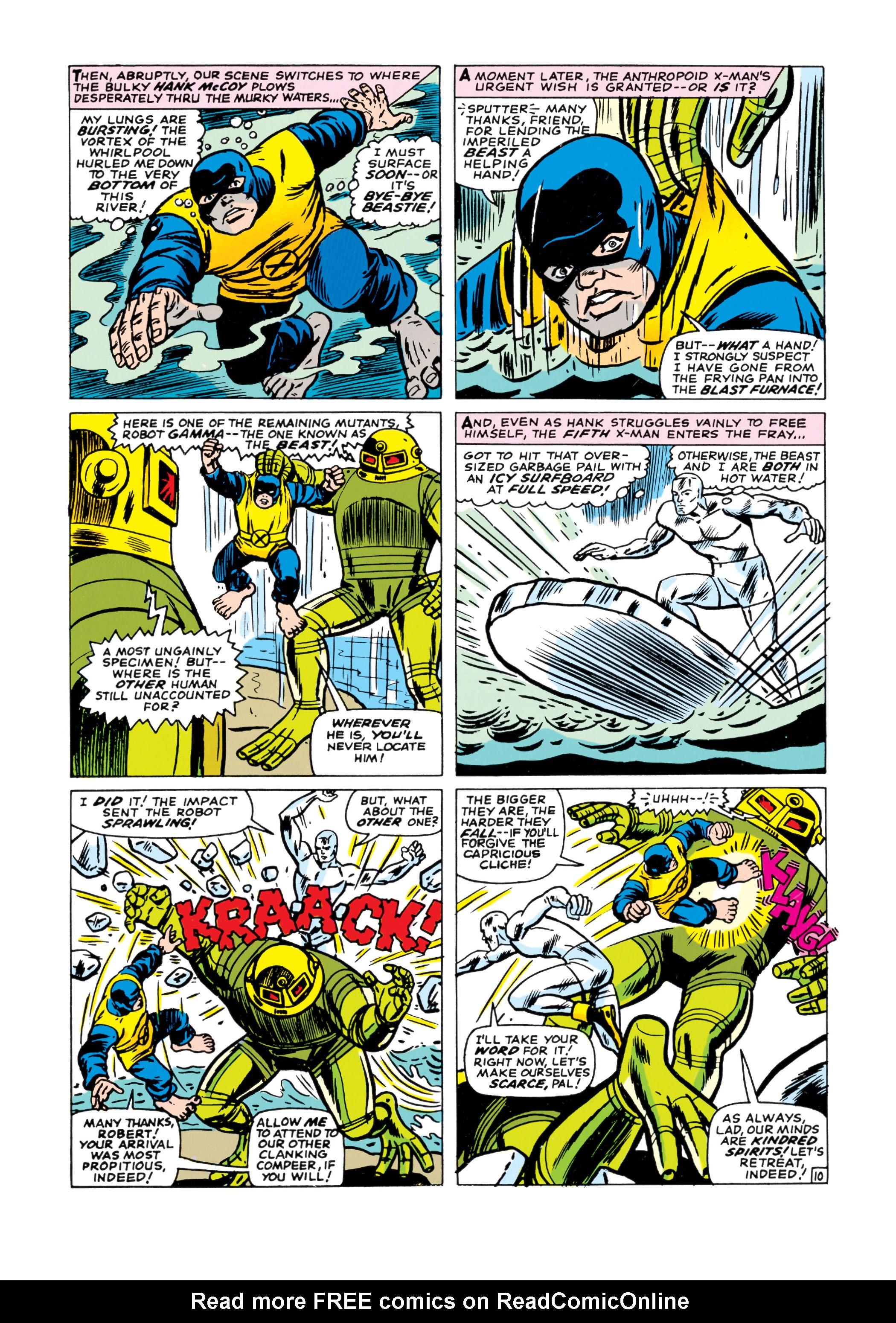 Read online Uncanny X-Men (1963) comic -  Issue #21 - 11