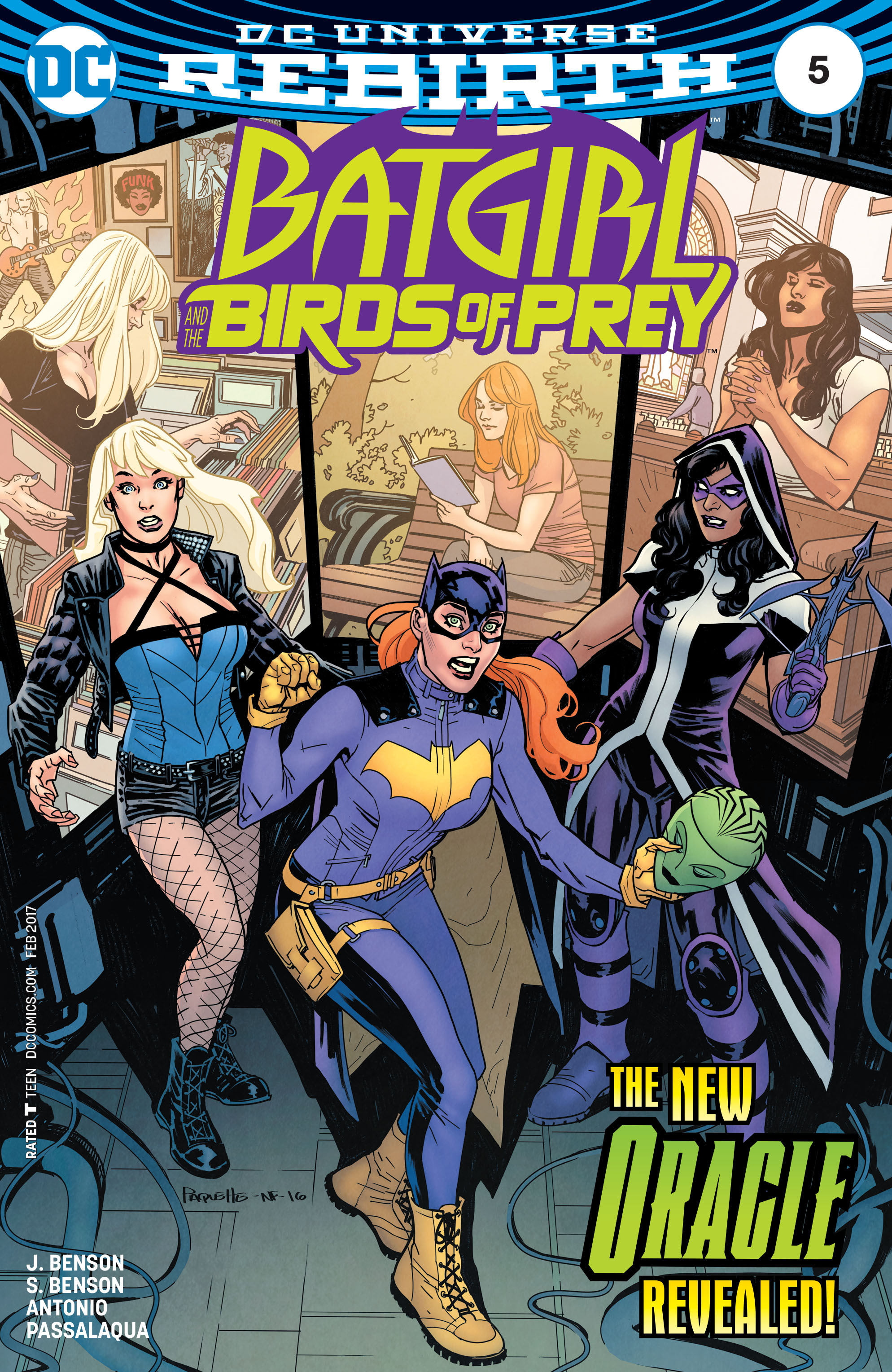 Comic Batgirl And The Birds Of Prey Issue 5