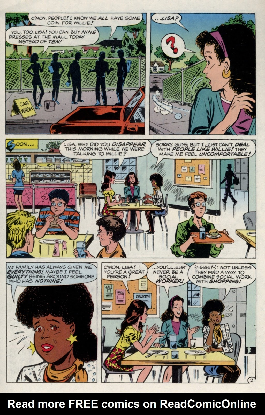 Read online Saved By The Bell comic -  Issue #4 - 21