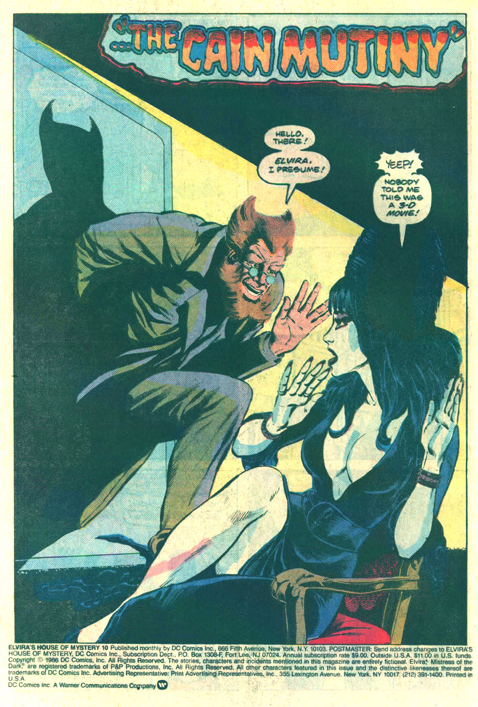 Elvira's House of Mystery Issue #10 #11 - English 3