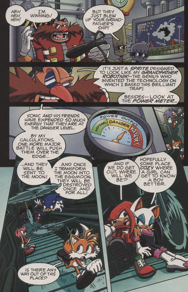 Read online Sonic X comic -  Issue #11 - 22