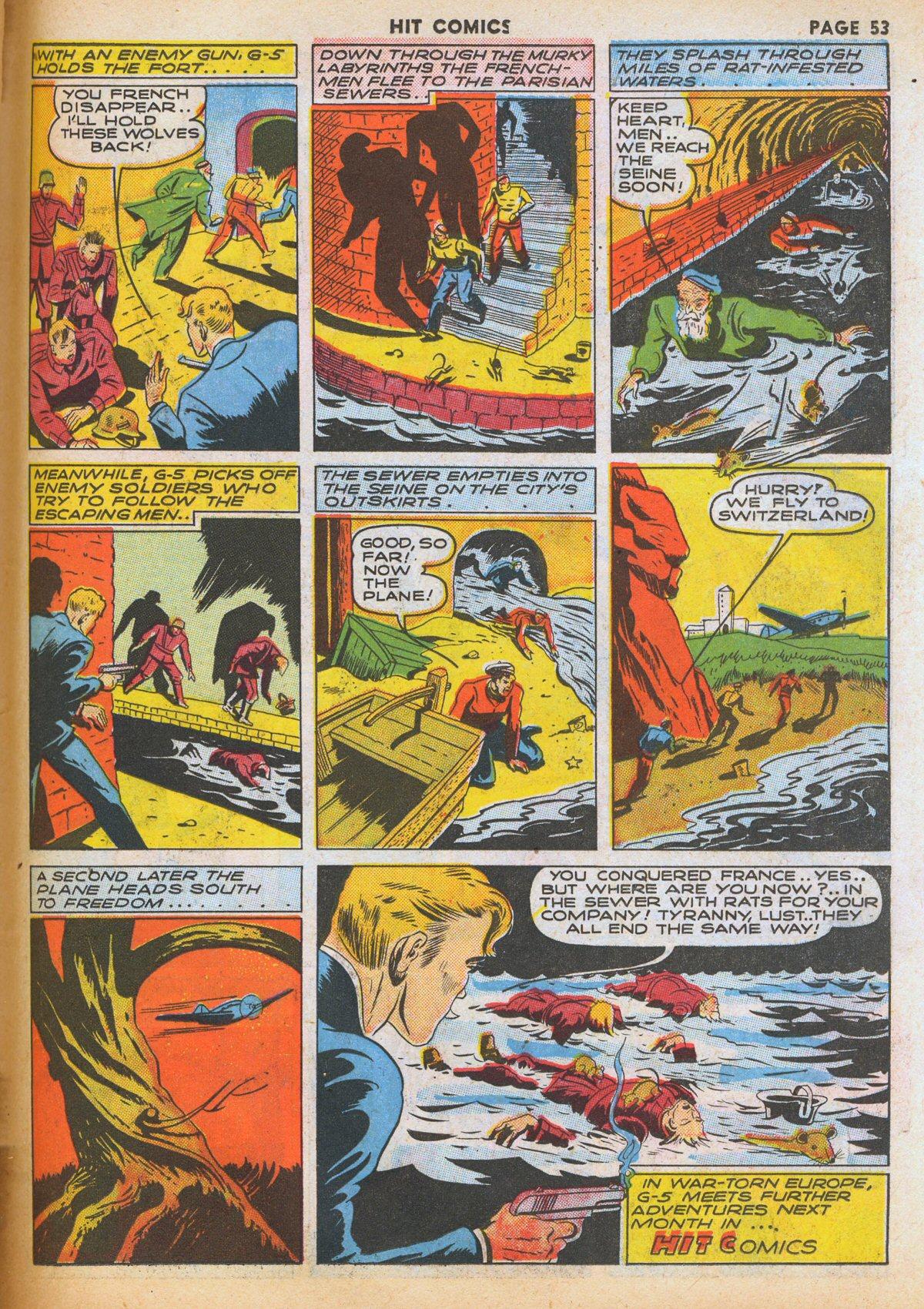 Read online Hit Comics comic -  Issue #12 - 55