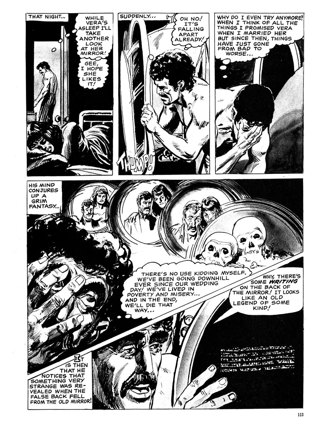 Read online Eerie Archives comic -  Issue # TPB 6 - 113