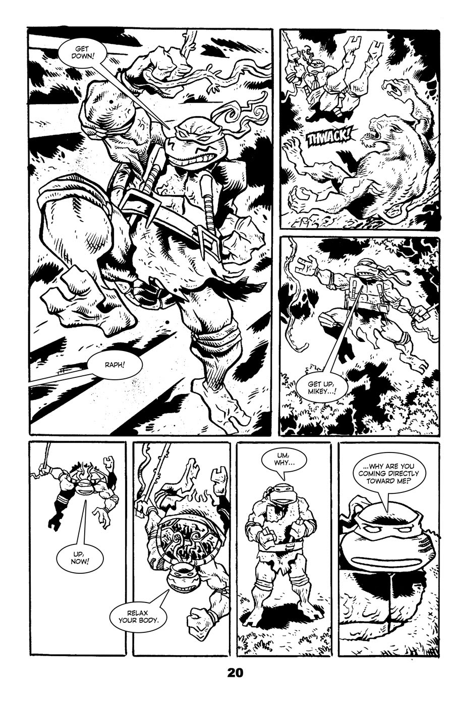Read online Tales of the TMNT comic -  Issue #71 - 24