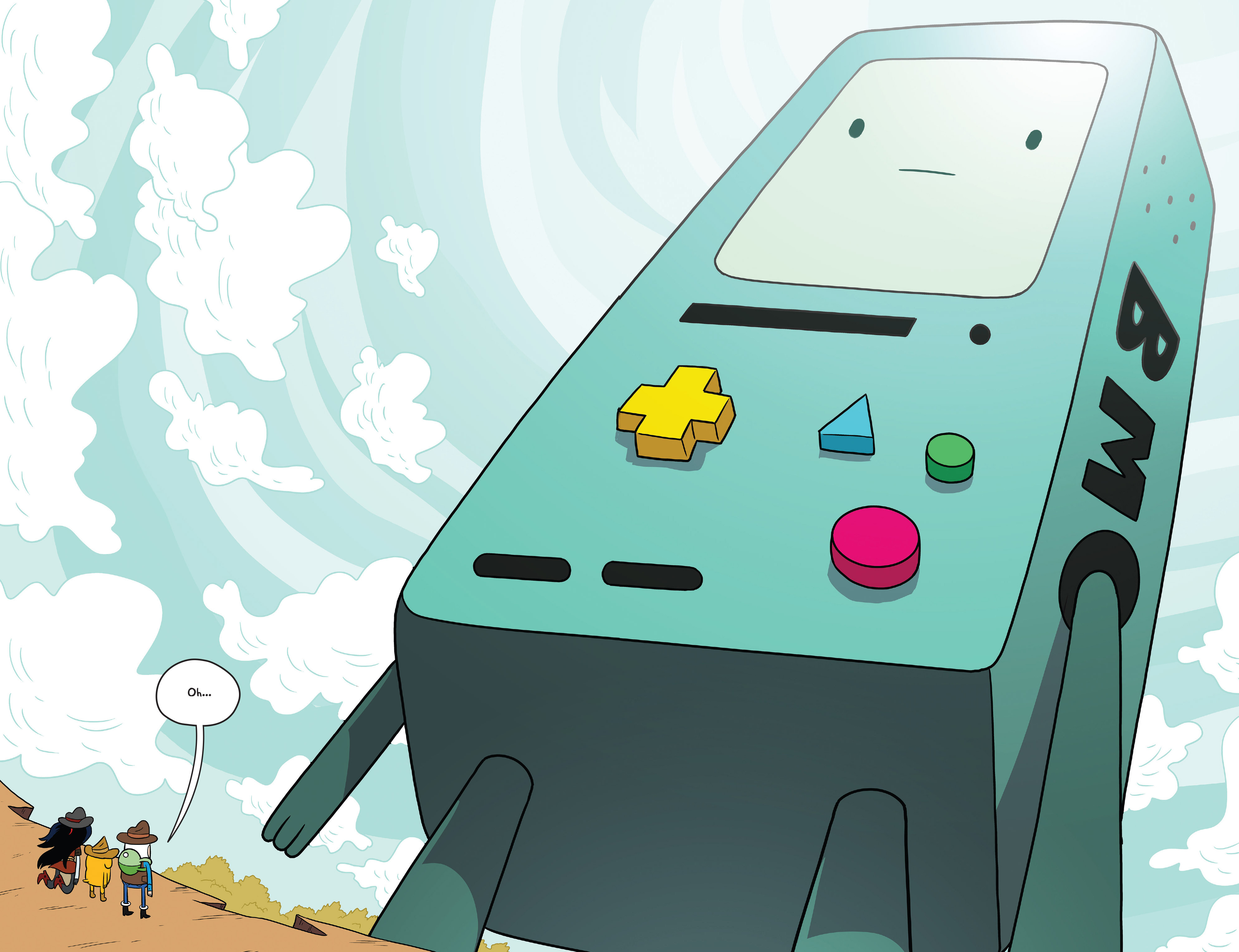 Read online Adventure Time comic -  Issue #54 - 21