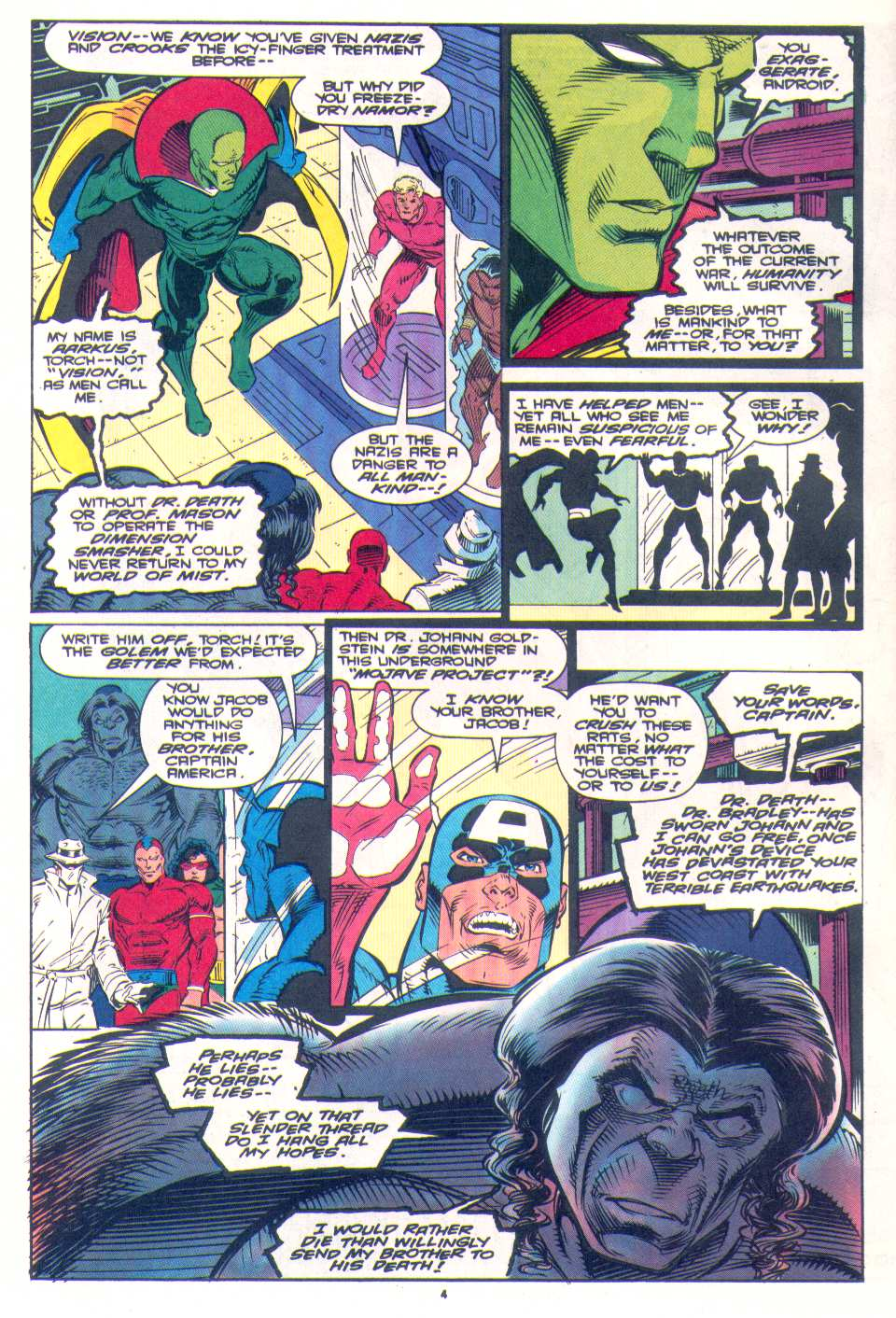 Read online The Invaders (1993) comic -  Issue #4 - 6