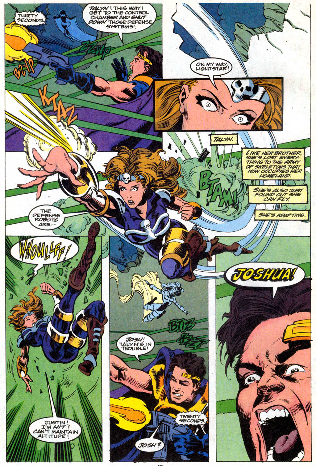 Skeleton Warriors Issue #1 #1 - English 8