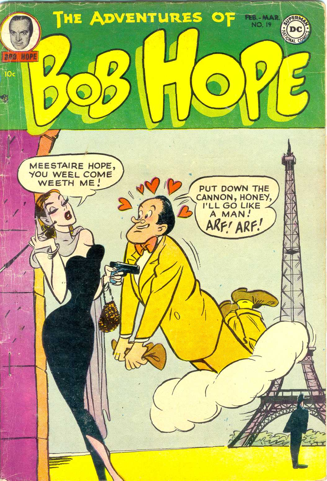 The Adventures of Bob Hope issue 19 - Page 1