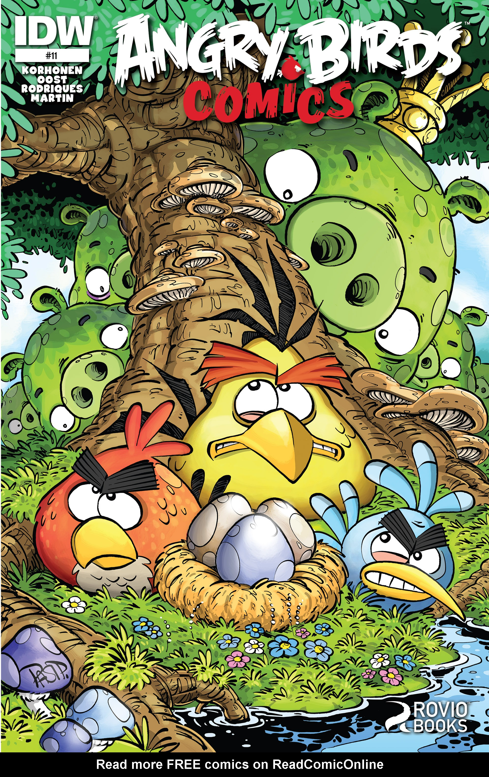 Read online Angry Birds Comics (2014) comic -  Issue #11 - 1