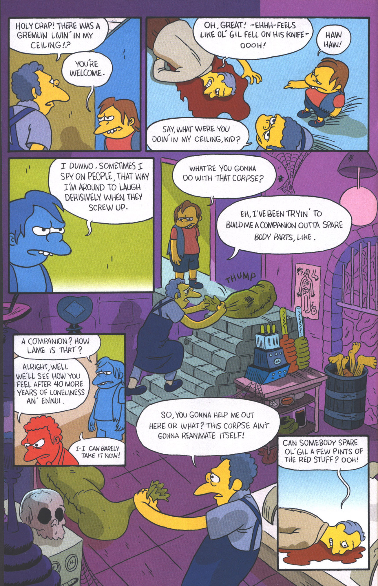 Read online Treehouse of Horror comic -  Issue #15 - 19