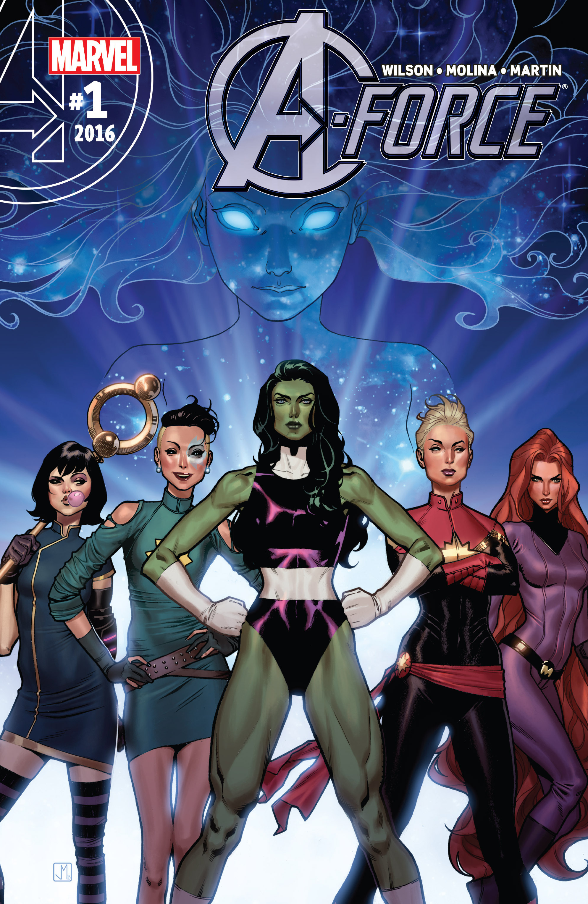 Read online A-Force (2016) comic -  Issue #1 - 1