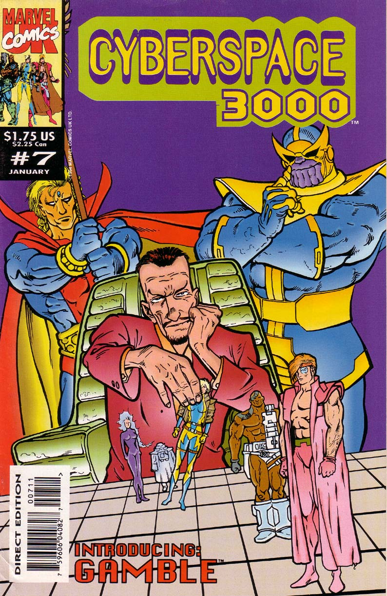 Read online Cyberspace 3000 comic -  Issue #7 - 1