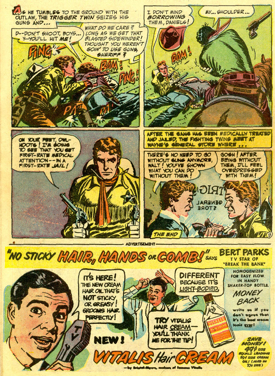 Read online All-Star Western (1951) comic -  Issue #64 - 10
