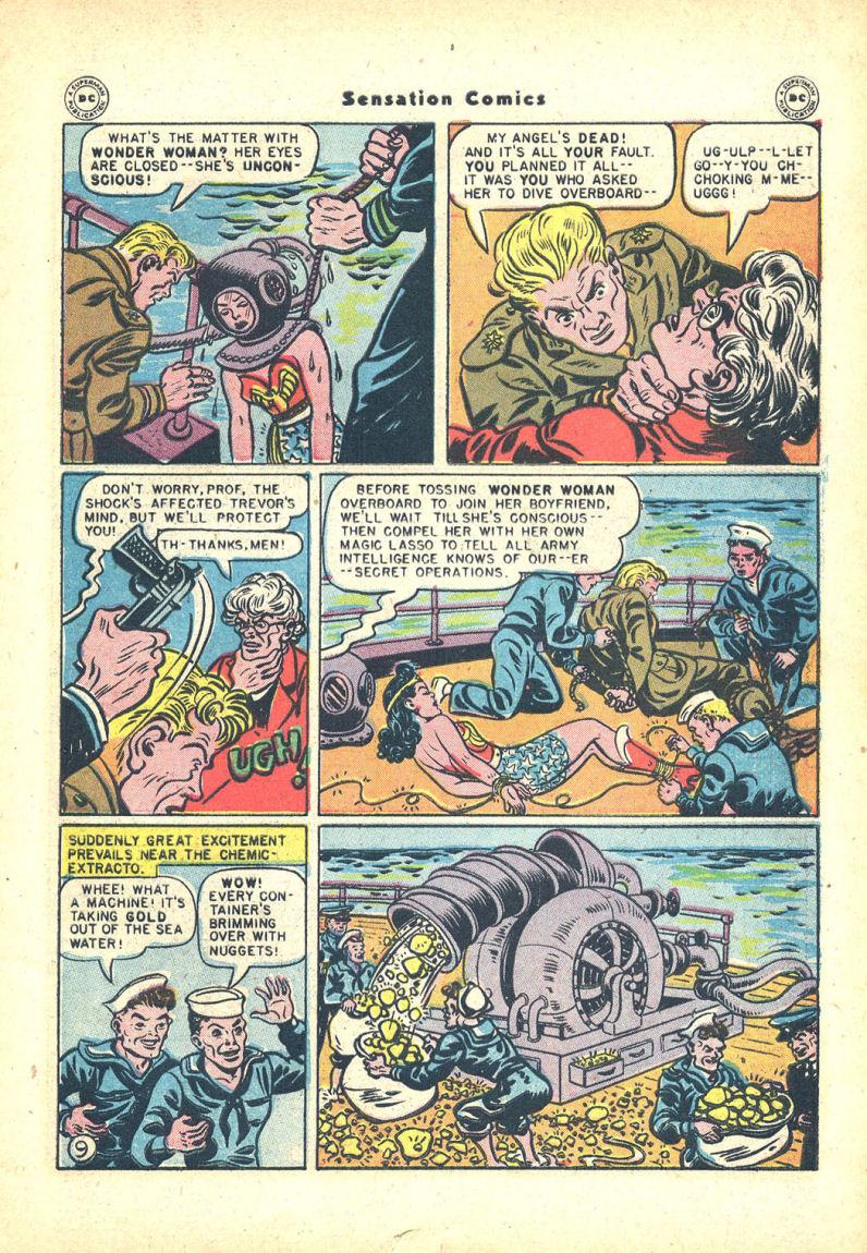 Read online Sensation (Mystery) Comics comic -  Issue #68 - 11