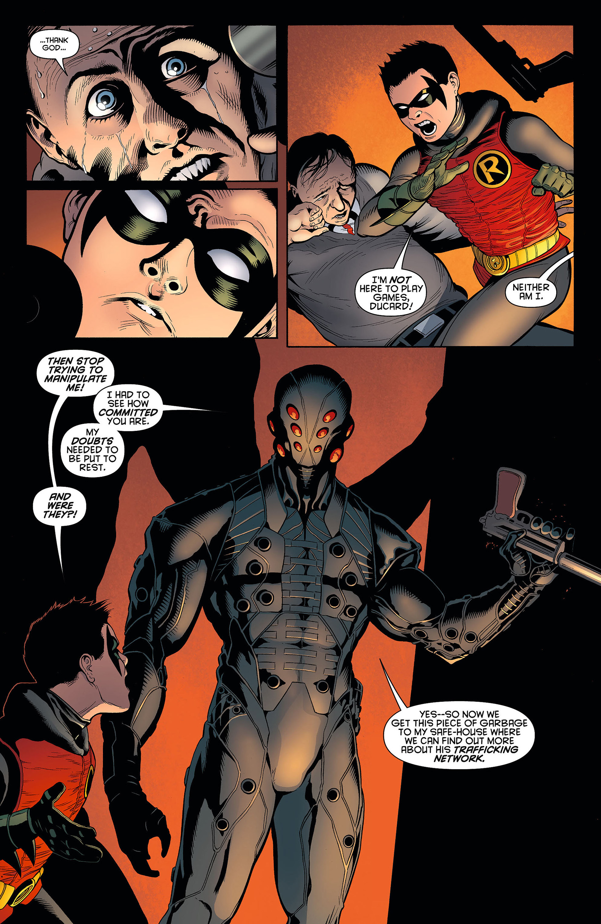 Read online Batman and Robin (2011) comic -  Issue #6 - 4