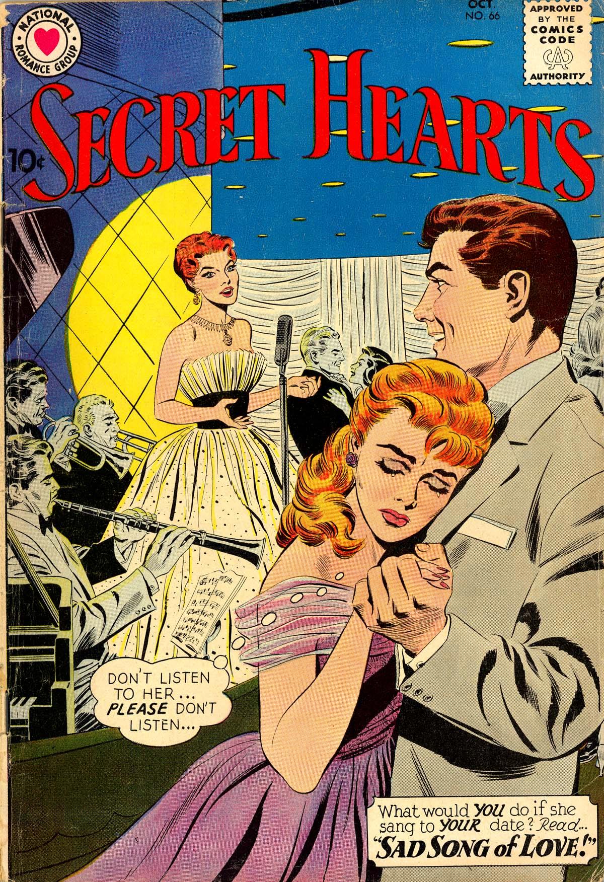 Read online Secret Hearts comic -  Issue #66 - 1