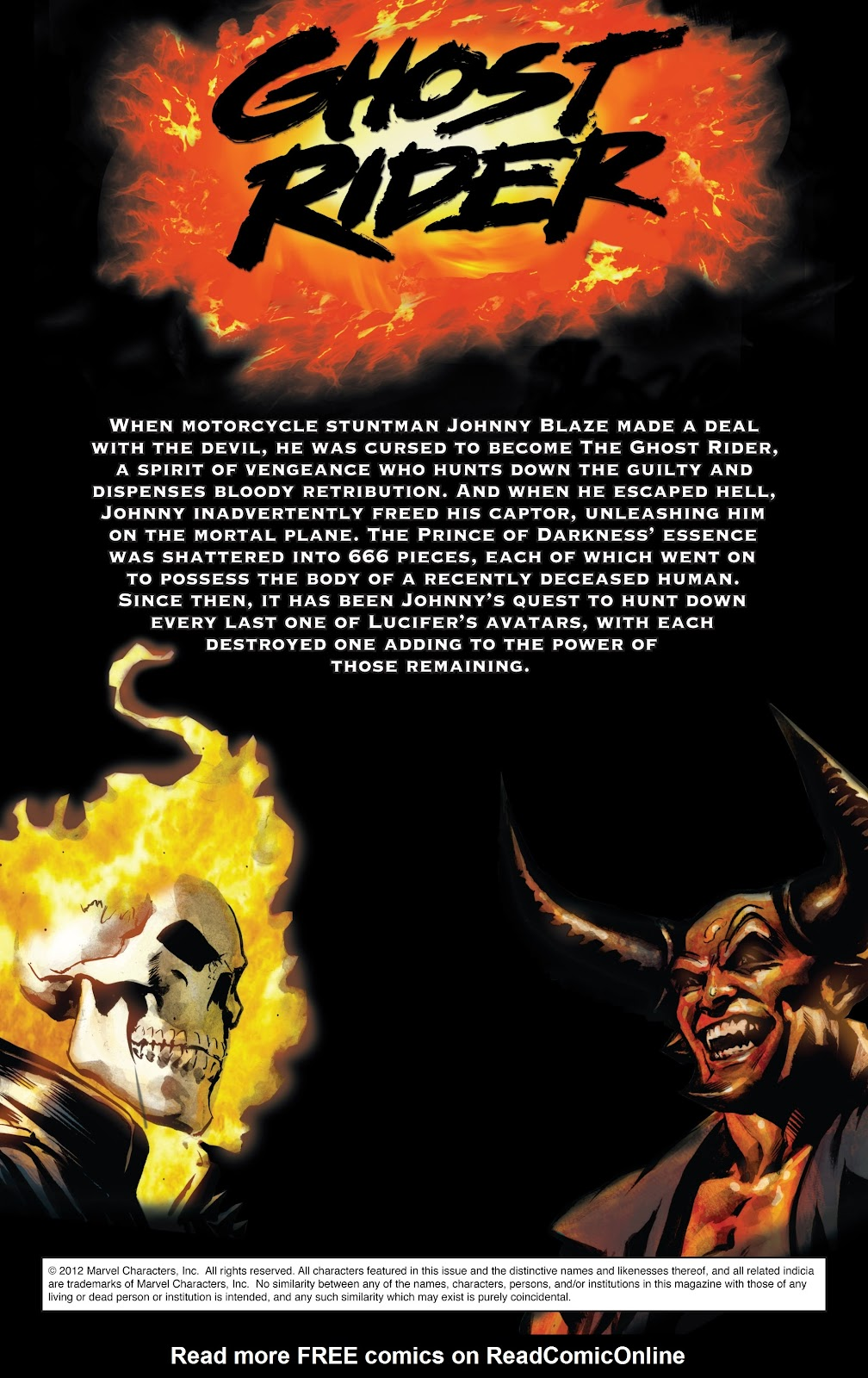 Read online Ghost Rider (2006) comic -  Issue # Annual 1 - 2