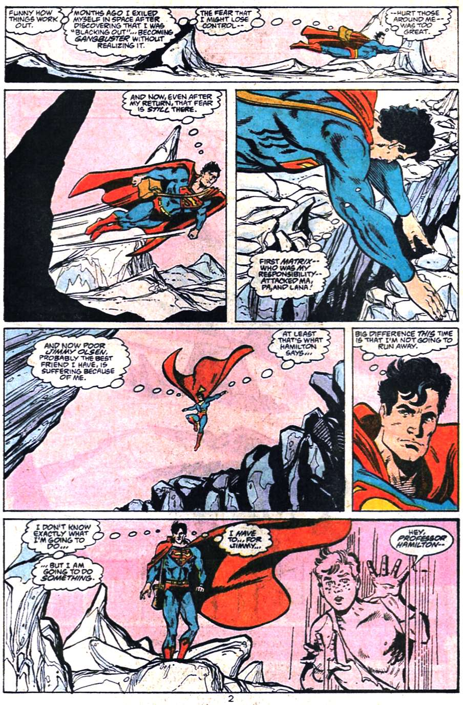 Read online Adventures of Superman (1987) comic -  Issue #459 - 3