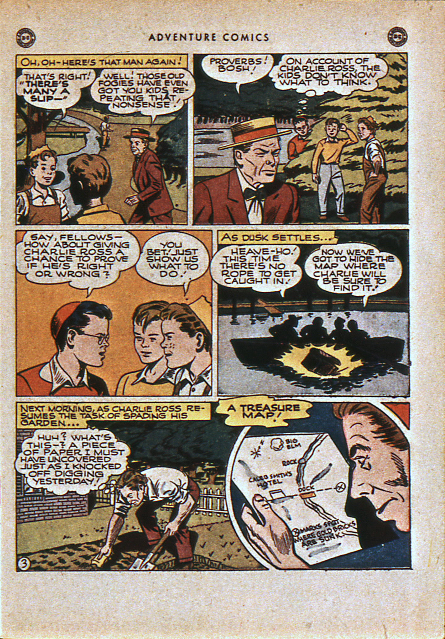Read online Adventure Comics (1938) comic -  Issue #108 - 6