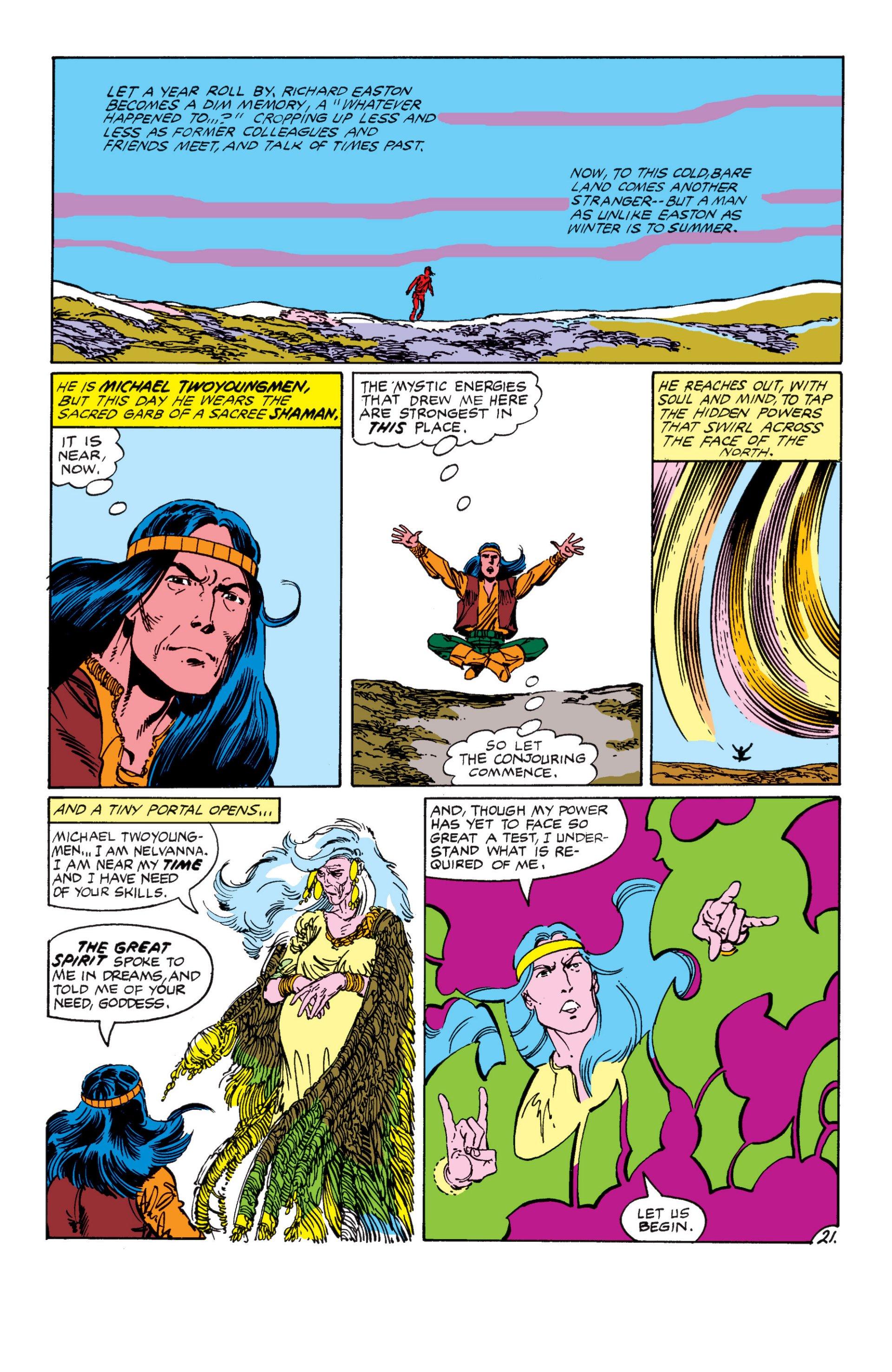 Read online Alpha Flight (1983) comic -  Issue #7 - 22