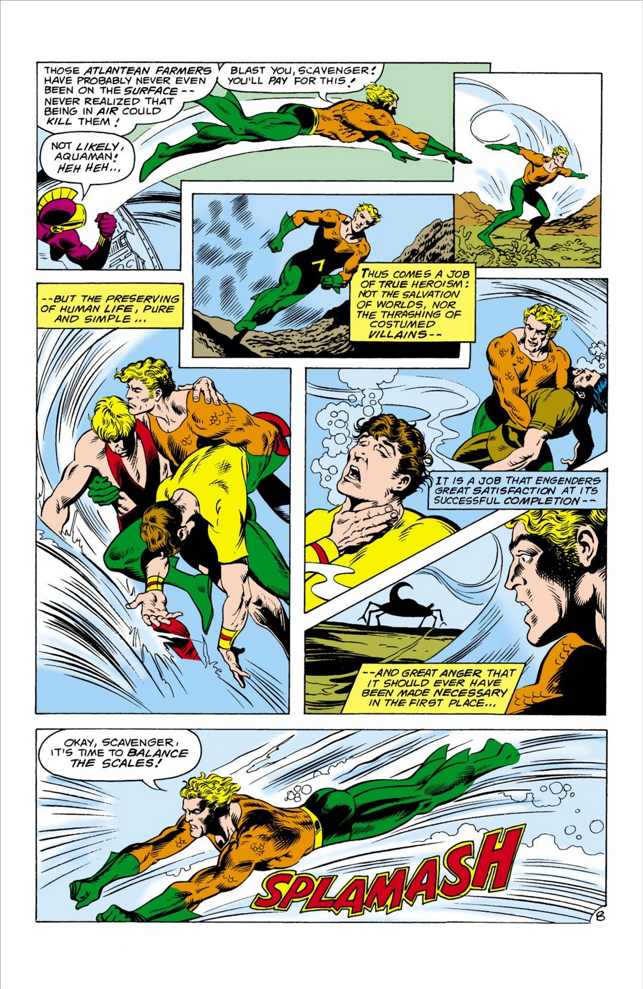 Read online Aquaman (1962) comic -  Issue #60 - 9