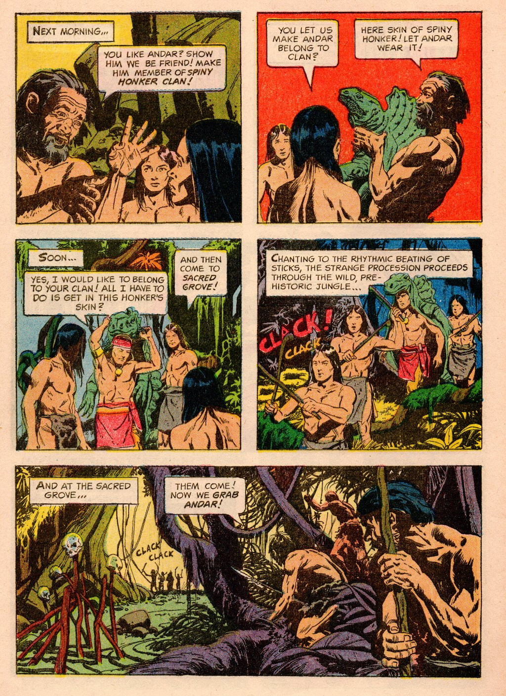 Read online Turok, Son of Stone comic -  Issue #33 - 32