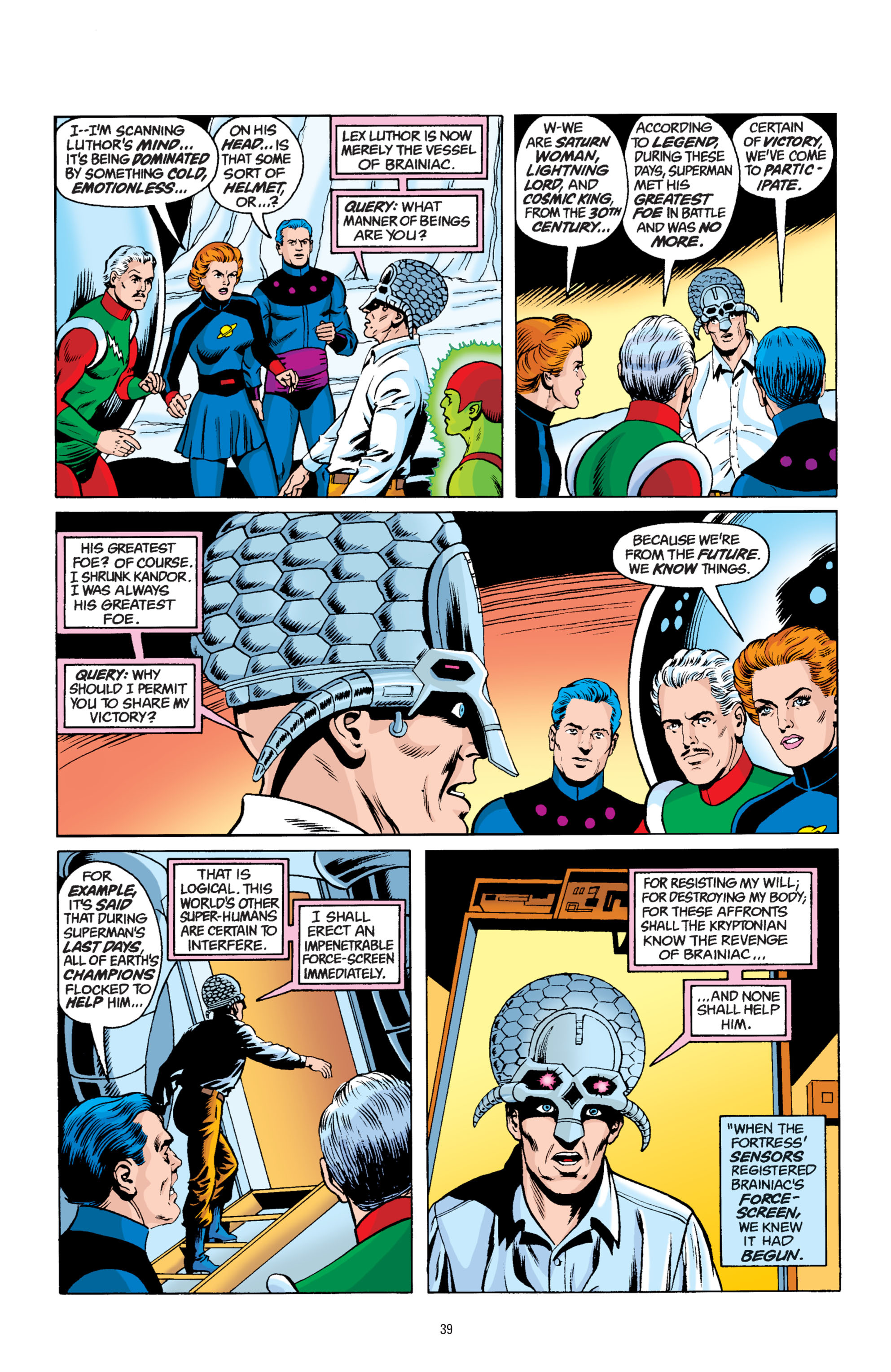 Read online Superman: Whatever Happened to the Man of Tomorrow? comic -  Issue # TPB - 38