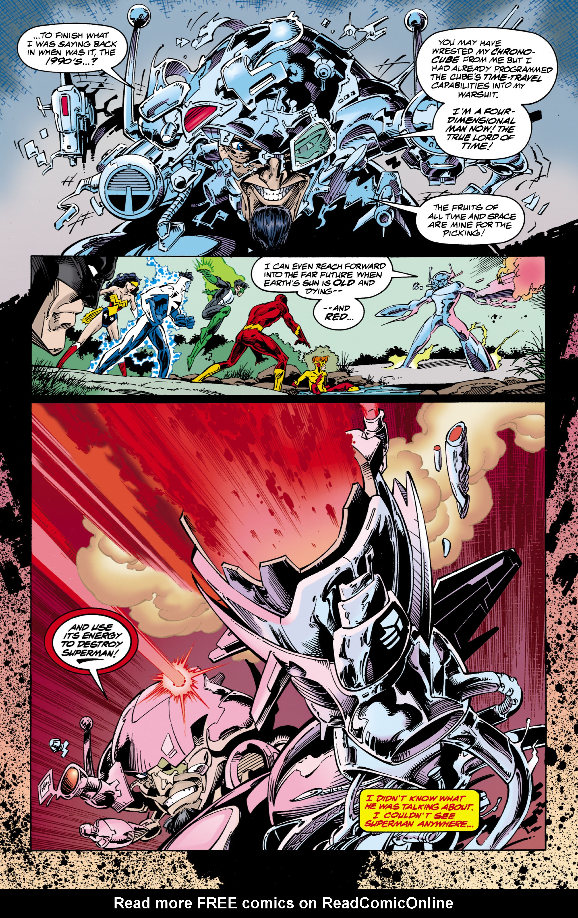 Read online JLA/WildC.A.T.s comic -  Issue # Full - 6