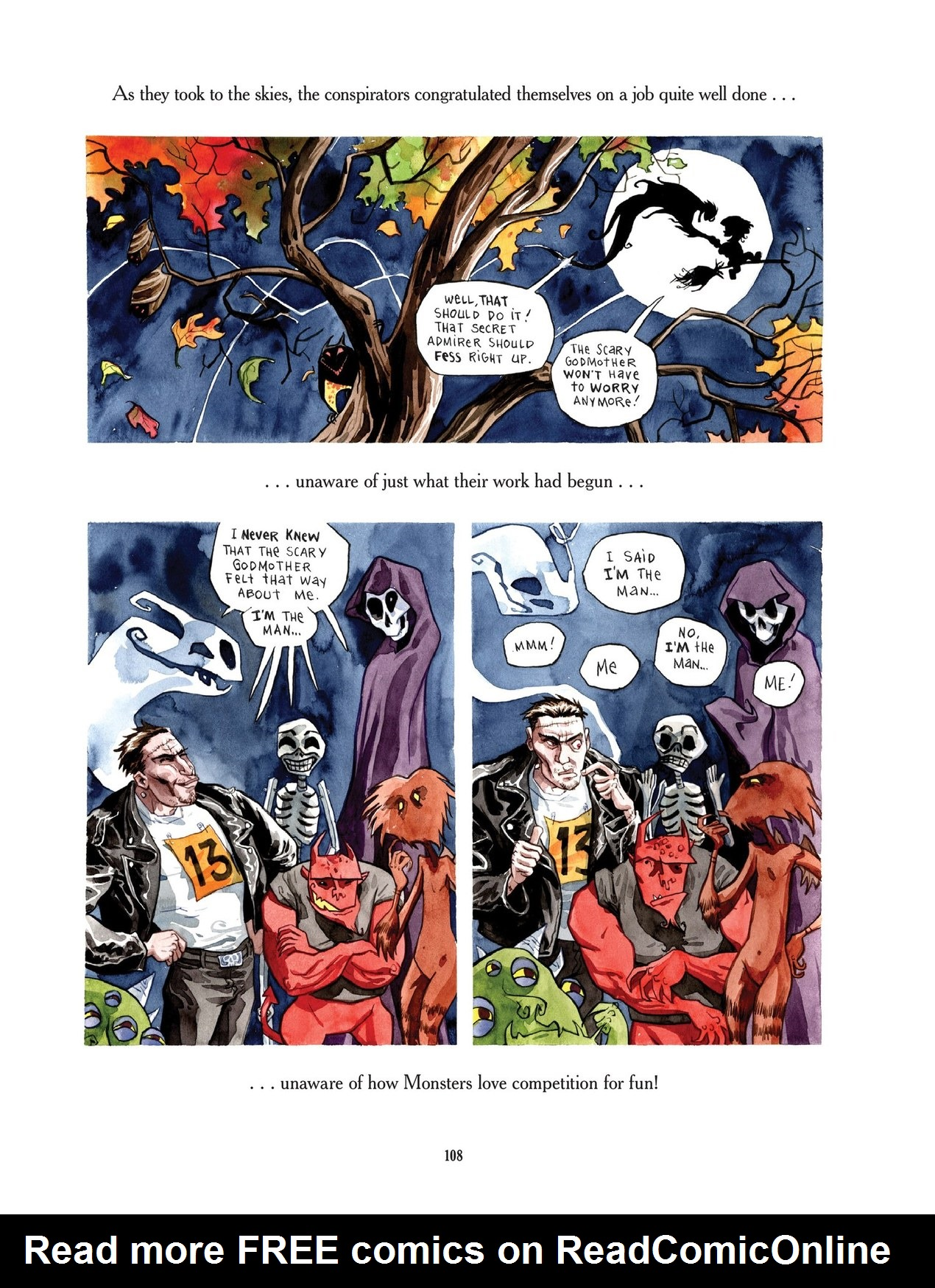 Read online Scary Godmother comic -  Issue # TPB - 108