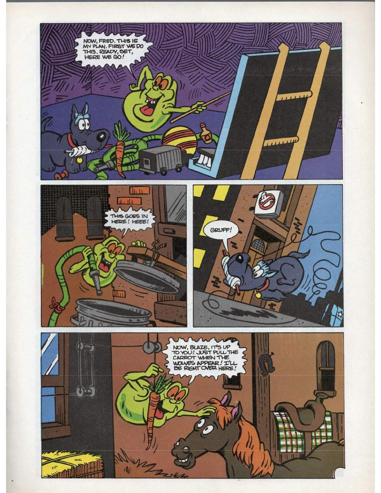 The Real Ghostbusters Issue #193 #167 - English 9