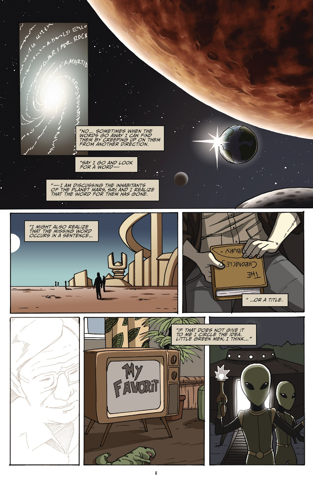 Read online Shadow Show: Stories in Celebration of Ray Bradbury comic -  Issue #2 - 10