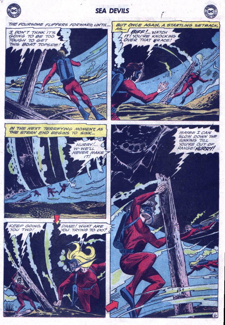 Read online Sea Devils comic -  Issue #21 - 8