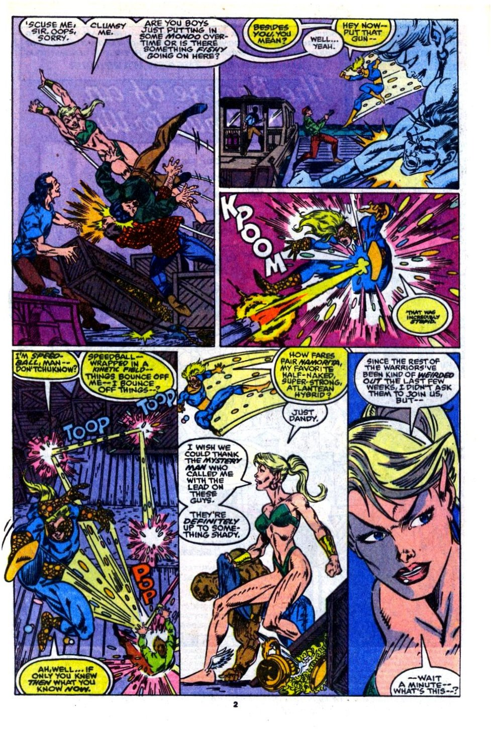 The New Warriors Issue #14 #18 - English 3