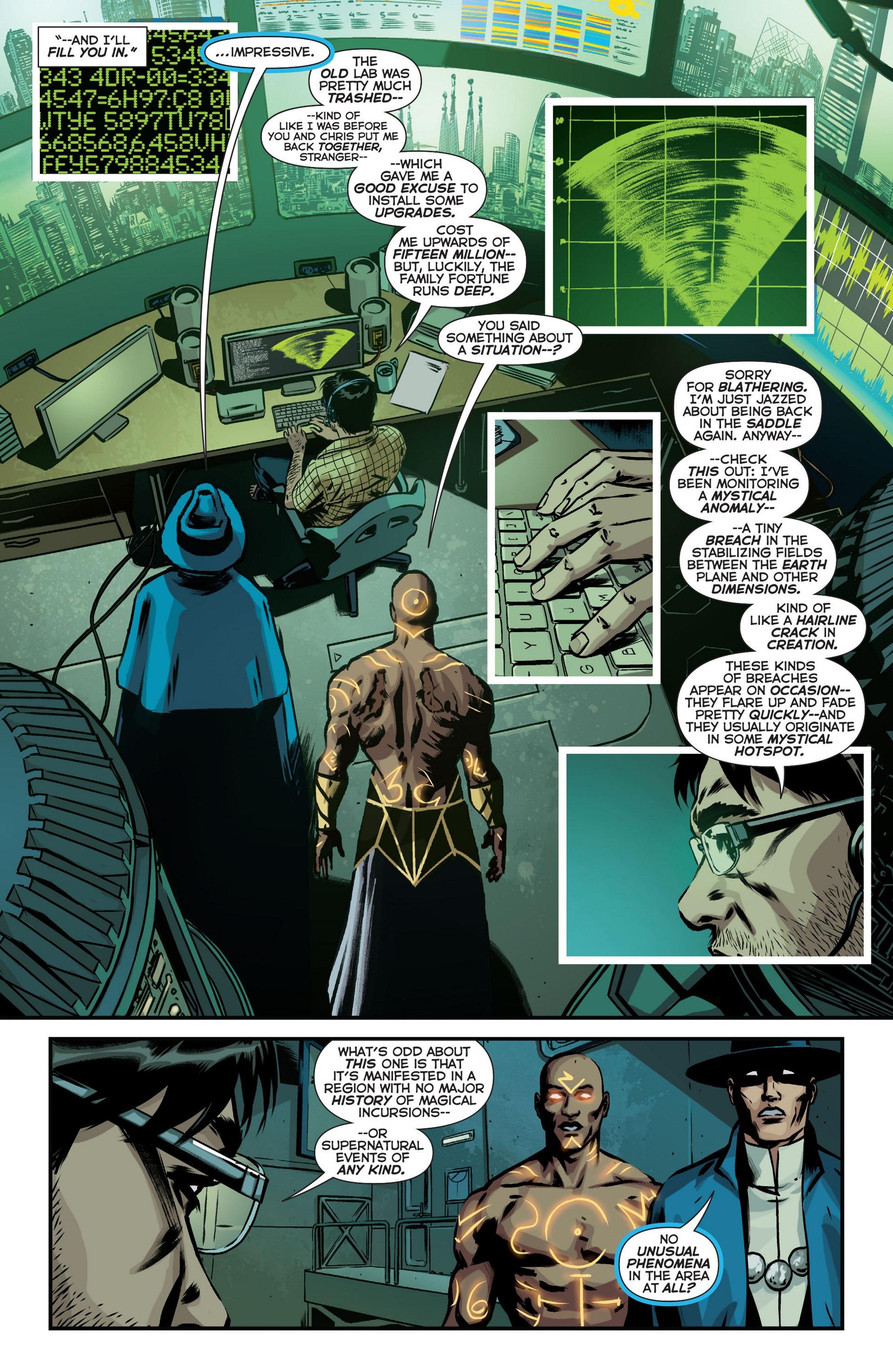 Read online Trinity of Sin: The Phantom Stranger comic -  Issue #18 - 6
