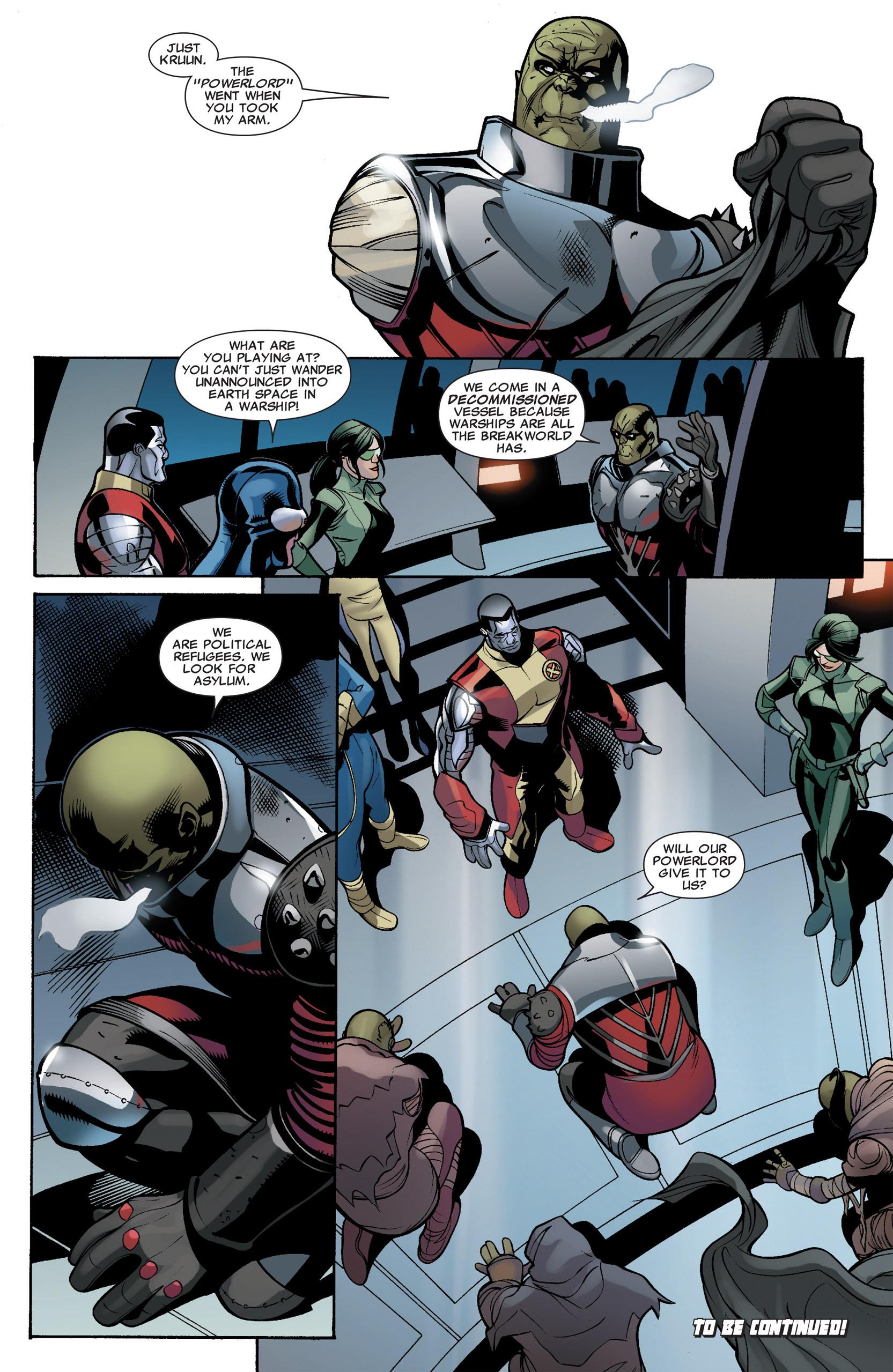 Read online Uncanny X-Men (1963) comic -  Issue #535 - 24